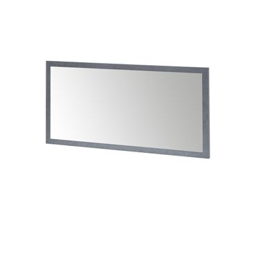 Spiegel MIA - 76 x 38 cm - Graphit-Grau
