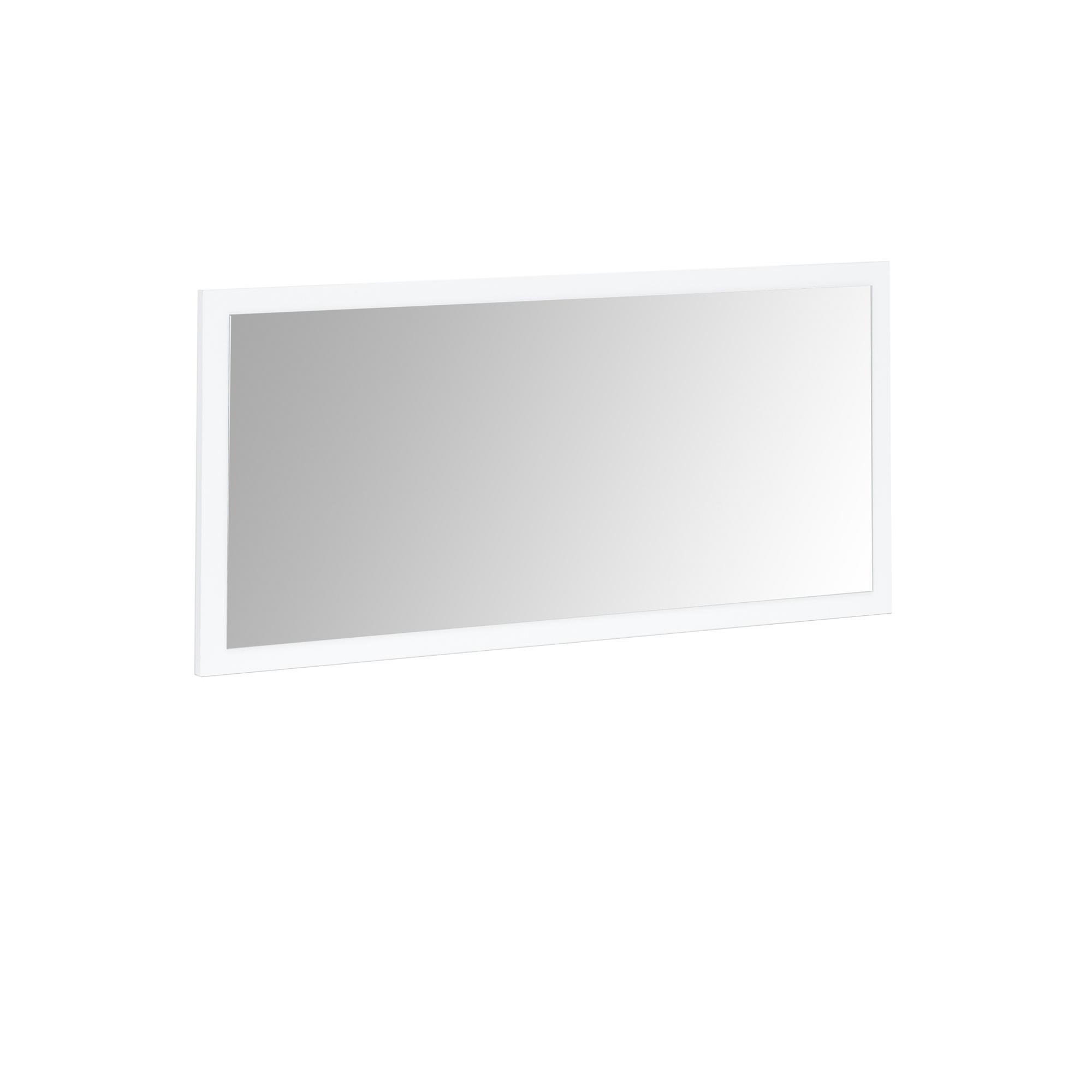 spiegel mia 76 x 38 cm wei wohnen spiegel. Black Bedroom Furniture Sets. Home Design Ideas