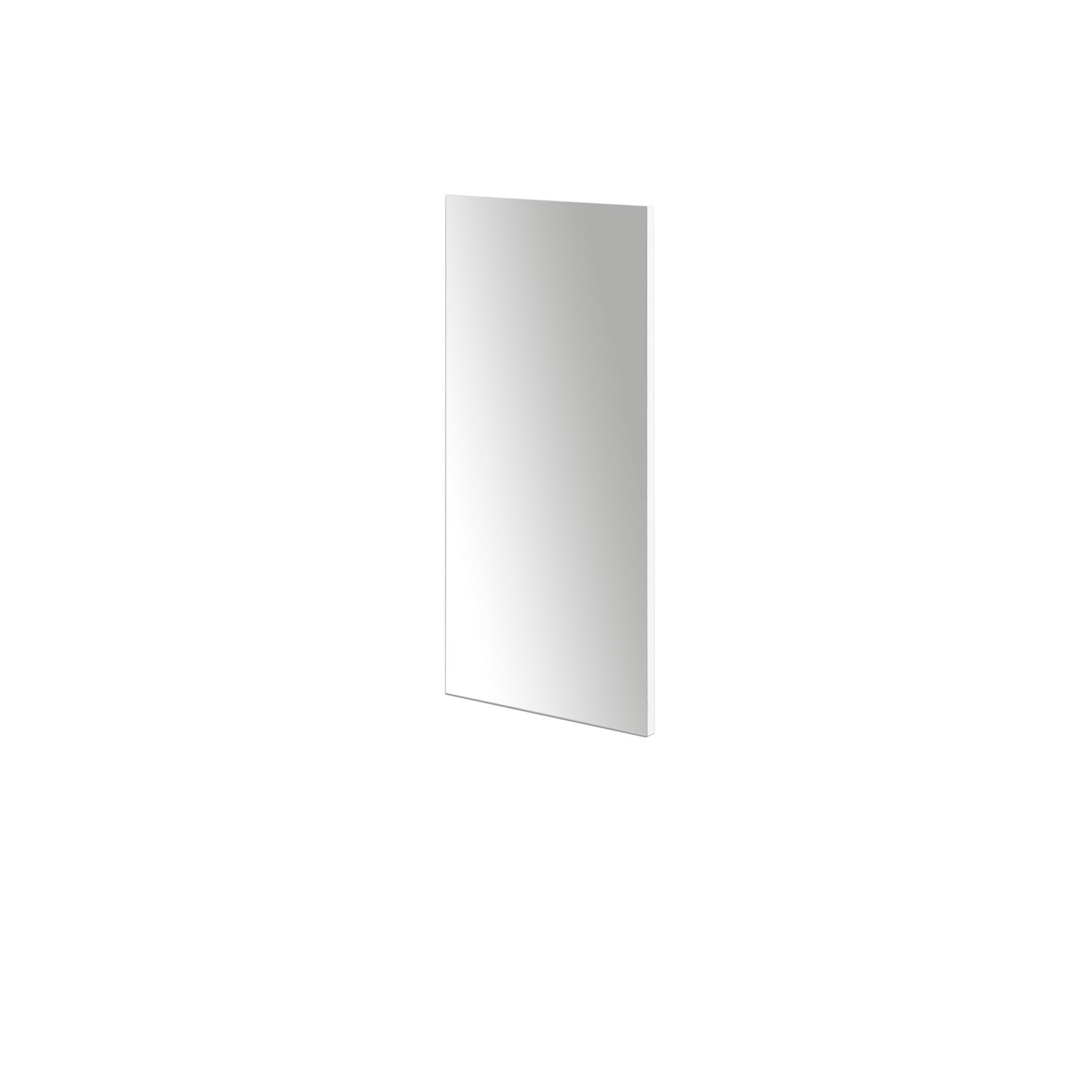 spiegel mia 33 x 71 cm vollfl chig verspiegelt wei wohnen spiegel. Black Bedroom Furniture Sets. Home Design Ideas