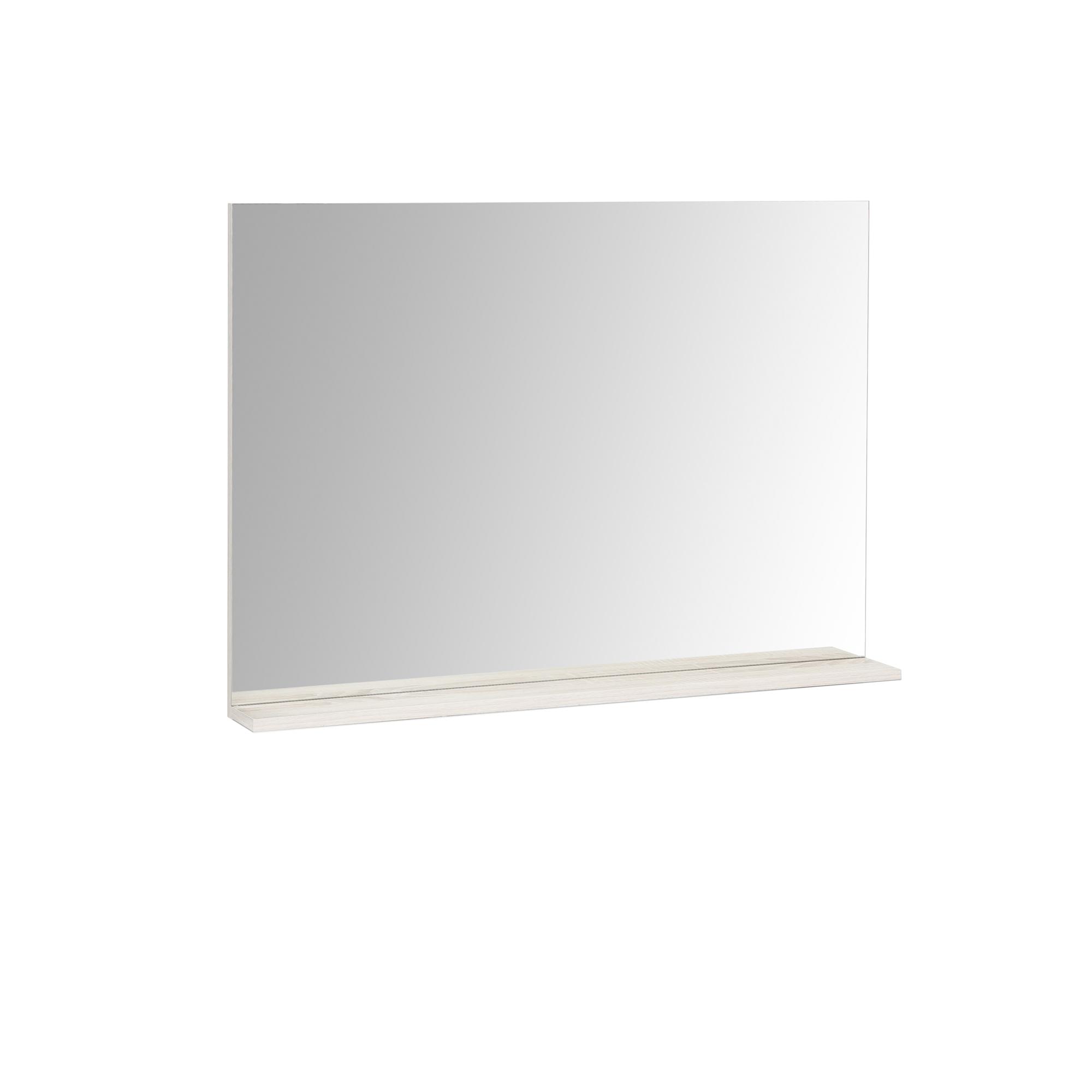 spiegel mia mit ablage 85 cm breit eiche sonoma wohnen spiegel. Black Bedroom Furniture Sets. Home Design Ideas