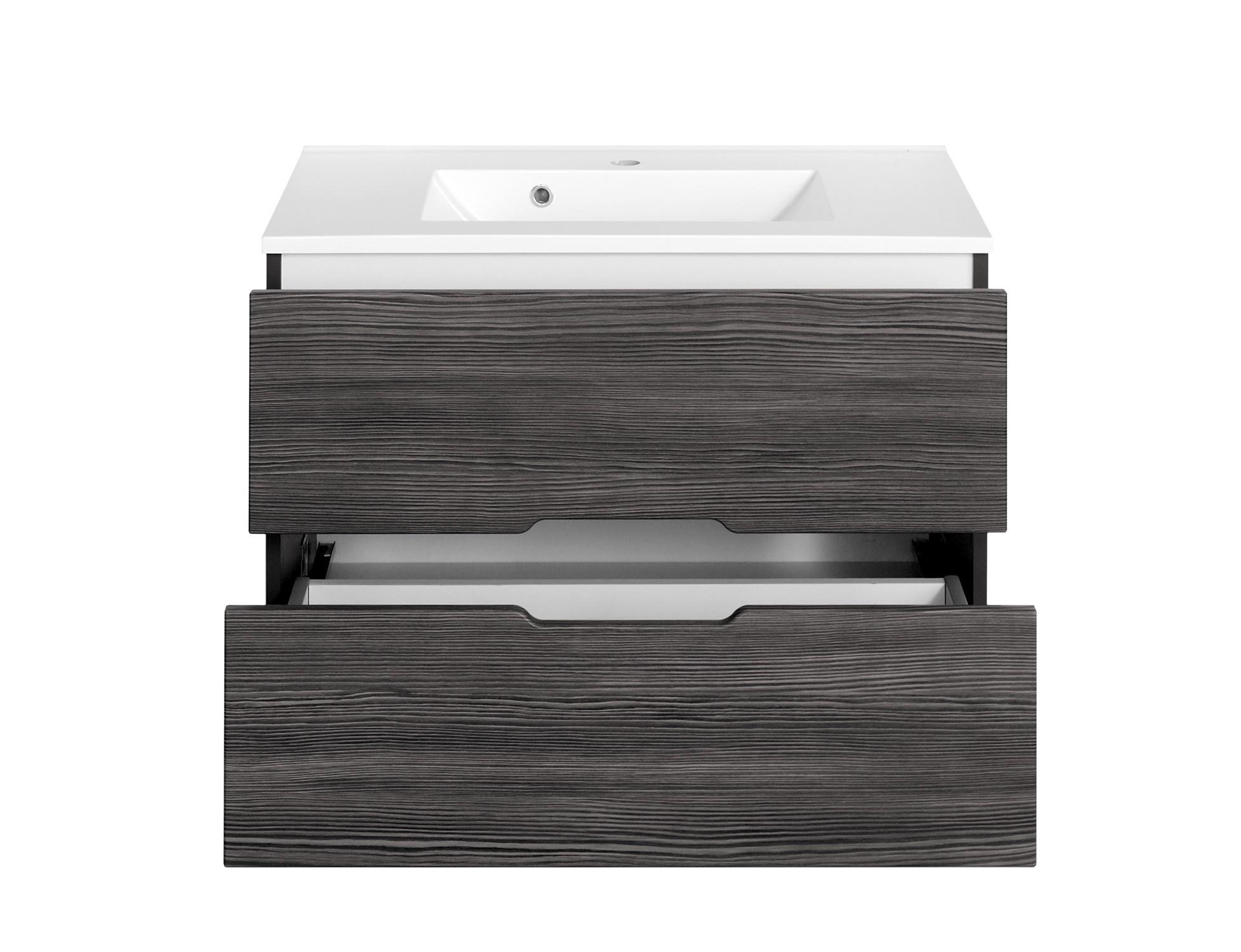 bad-waschtisch belluno - 2 auszüge - 80 cm breit - lärche, Badezimmer ideen
