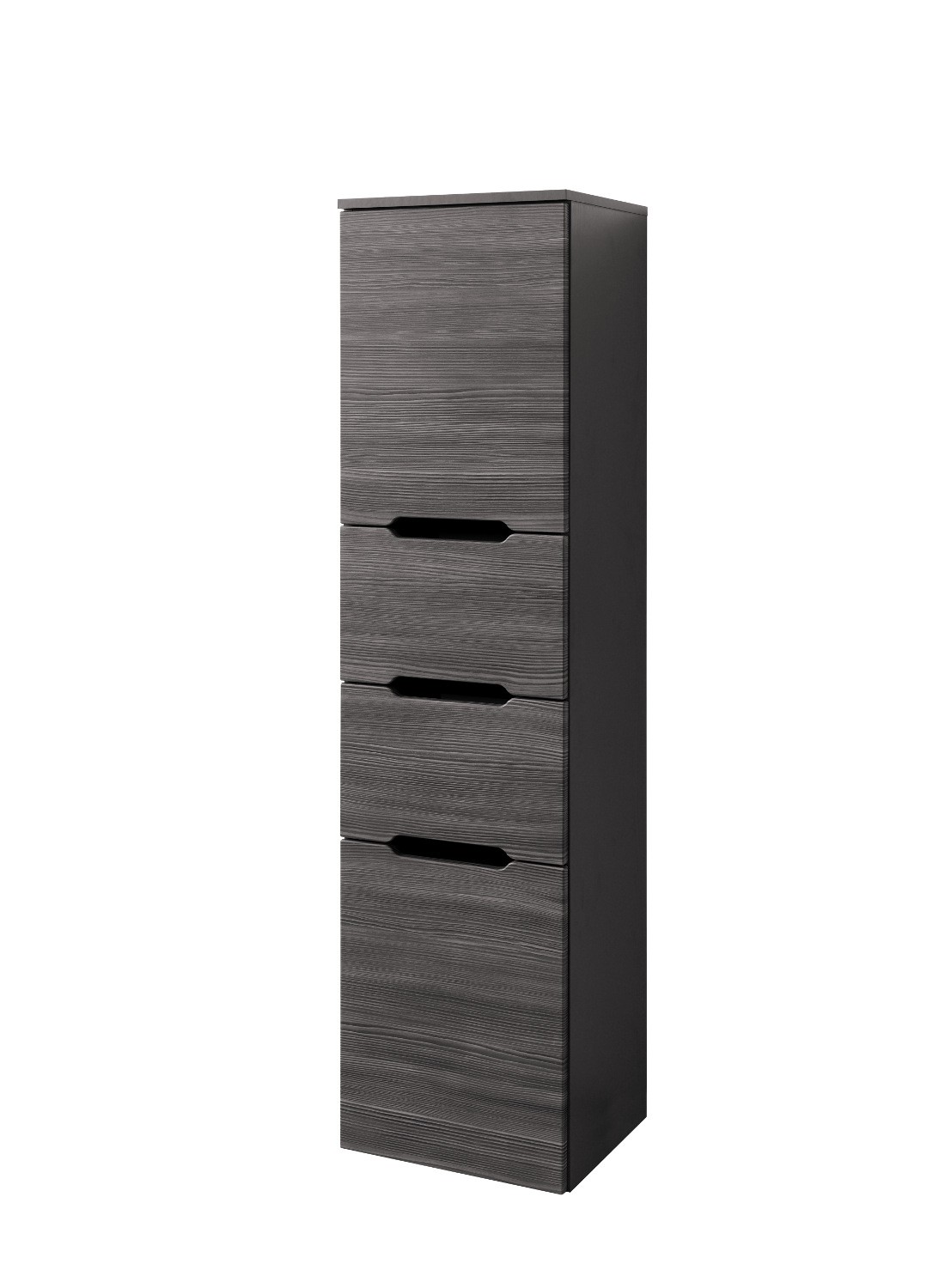 bad hochschrank belluno 2 t rig 2 ausz ge 40 cm breit l rche anthrazit bad bad hochschr nke. Black Bedroom Furniture Sets. Home Design Ideas