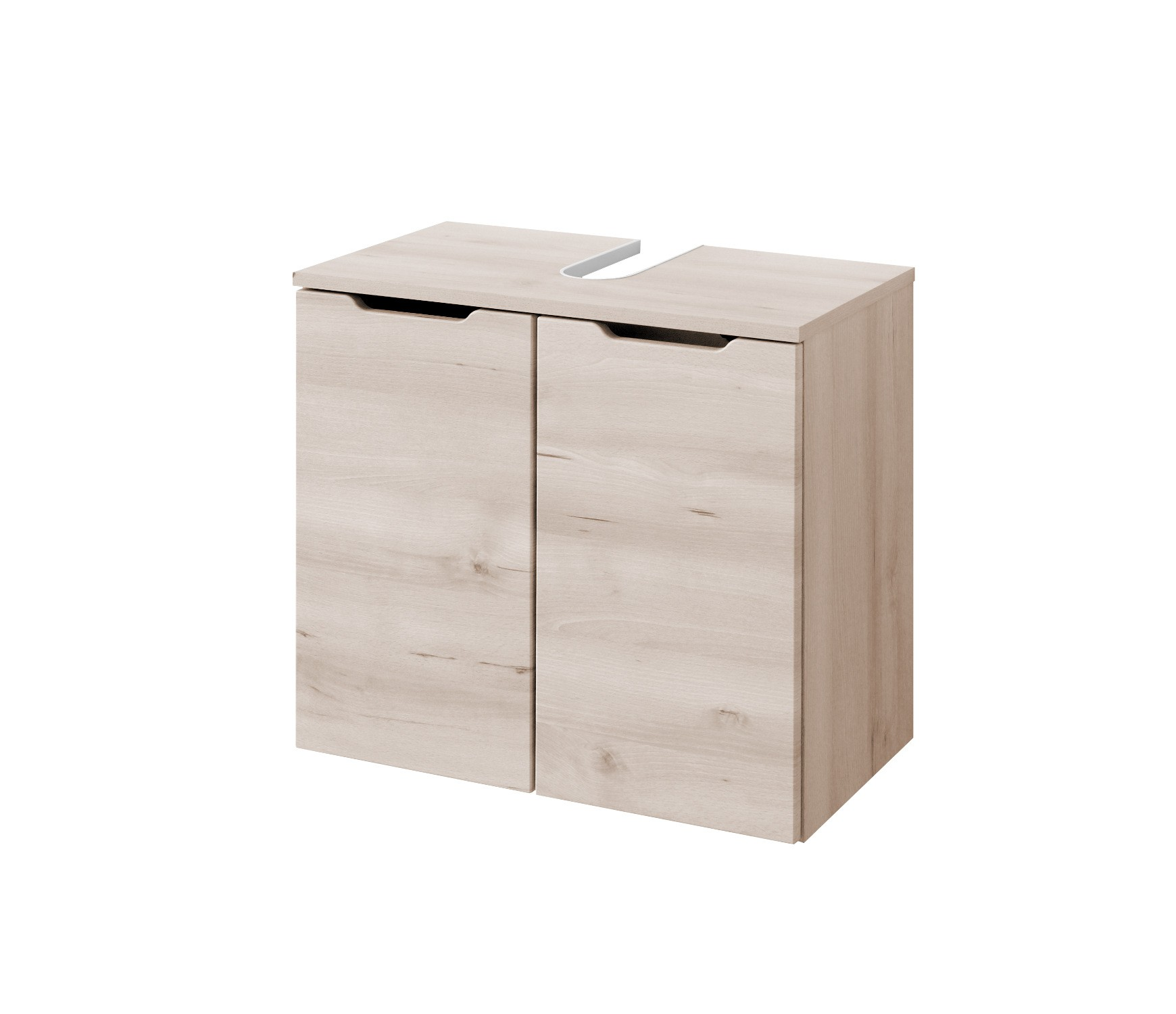 bad waschbeckenunterschrank belluno 2 t ren 60 cm breit buche iconic bad. Black Bedroom Furniture Sets. Home Design Ideas