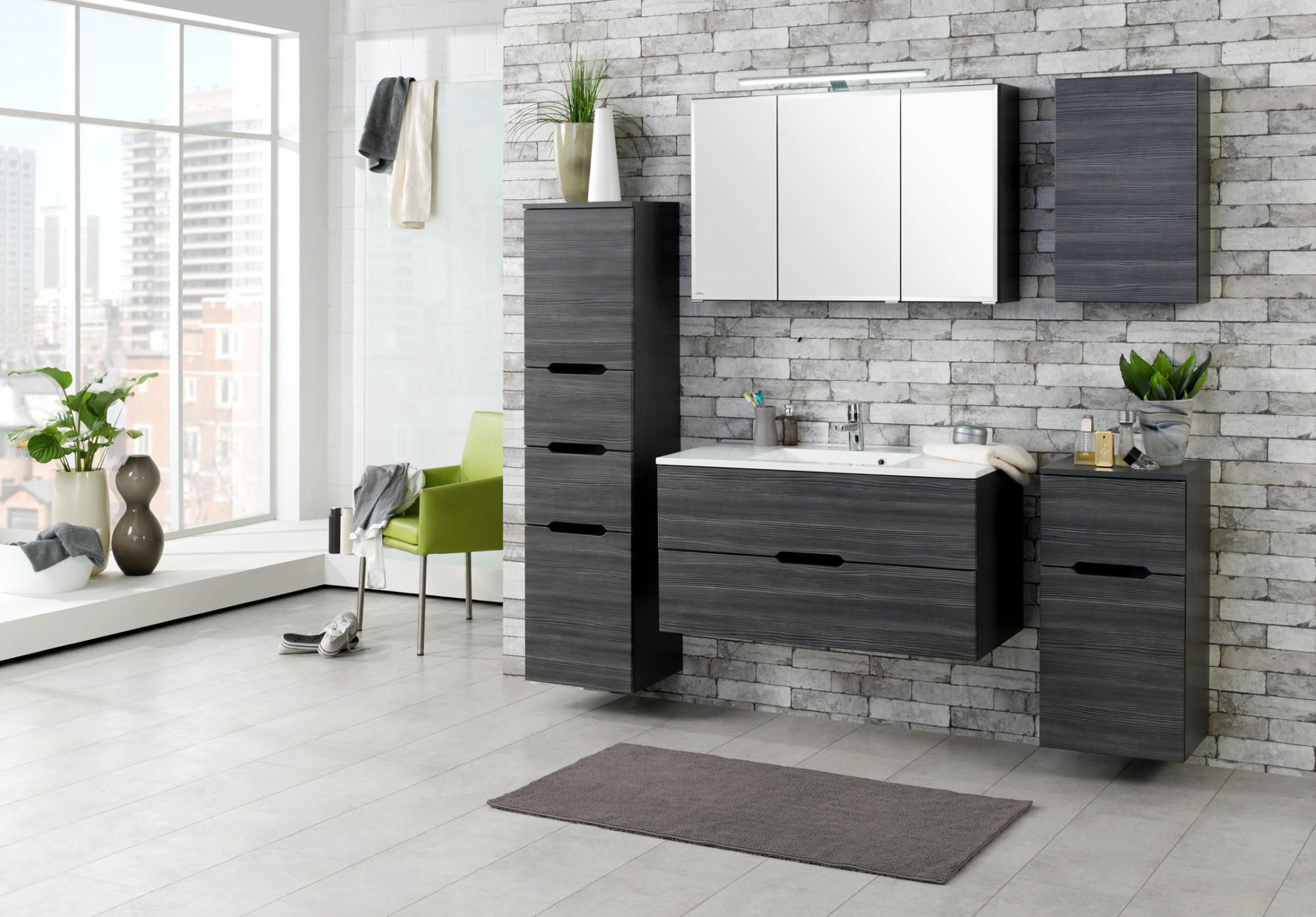 bad unterschrank belluno 1 t rig 1 auszug 40 cm breit. Black Bedroom Furniture Sets. Home Design Ideas