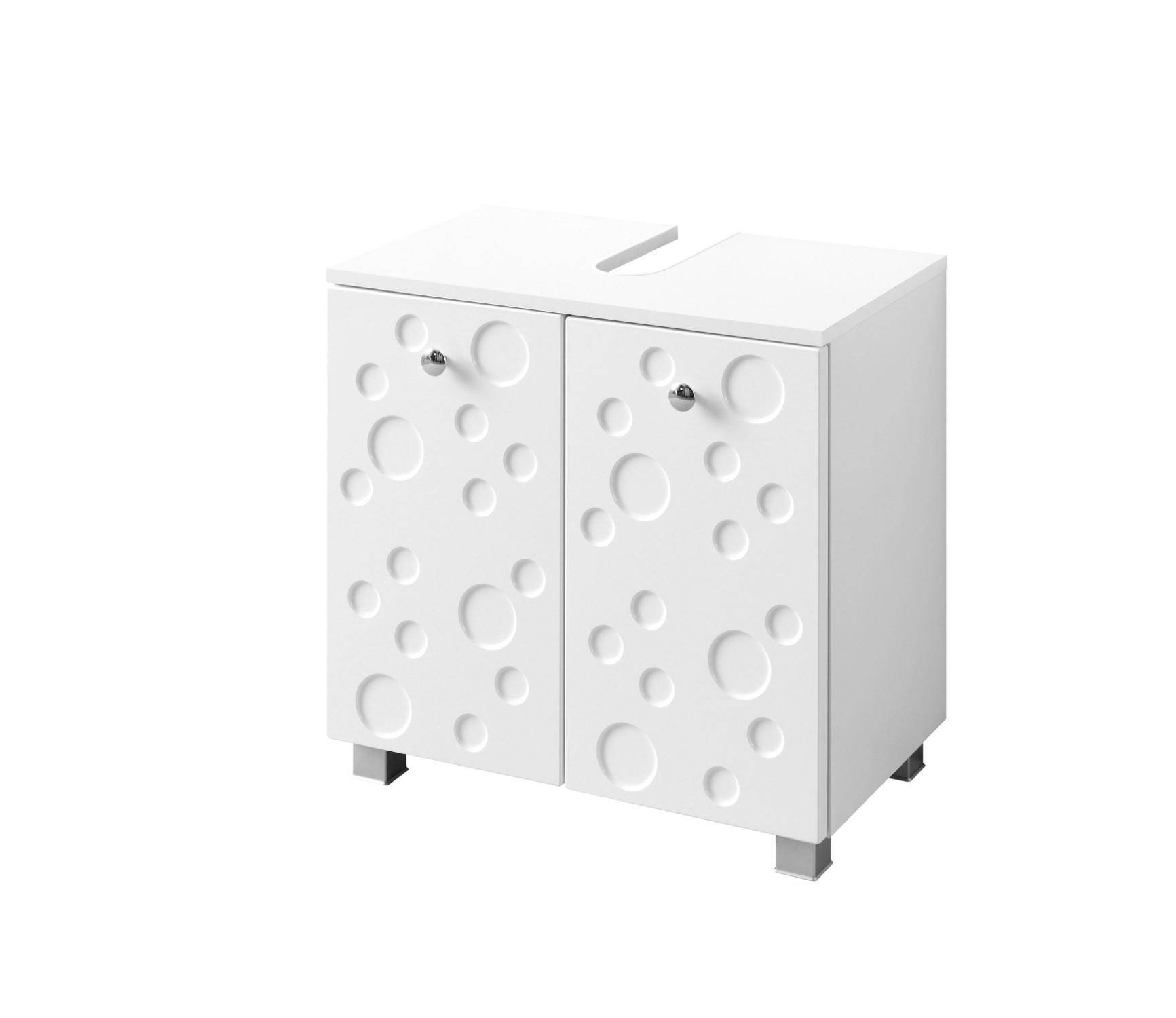 bad waschbeckenunterschrank bubble 2 t ren 60 cm breit. Black Bedroom Furniture Sets. Home Design Ideas