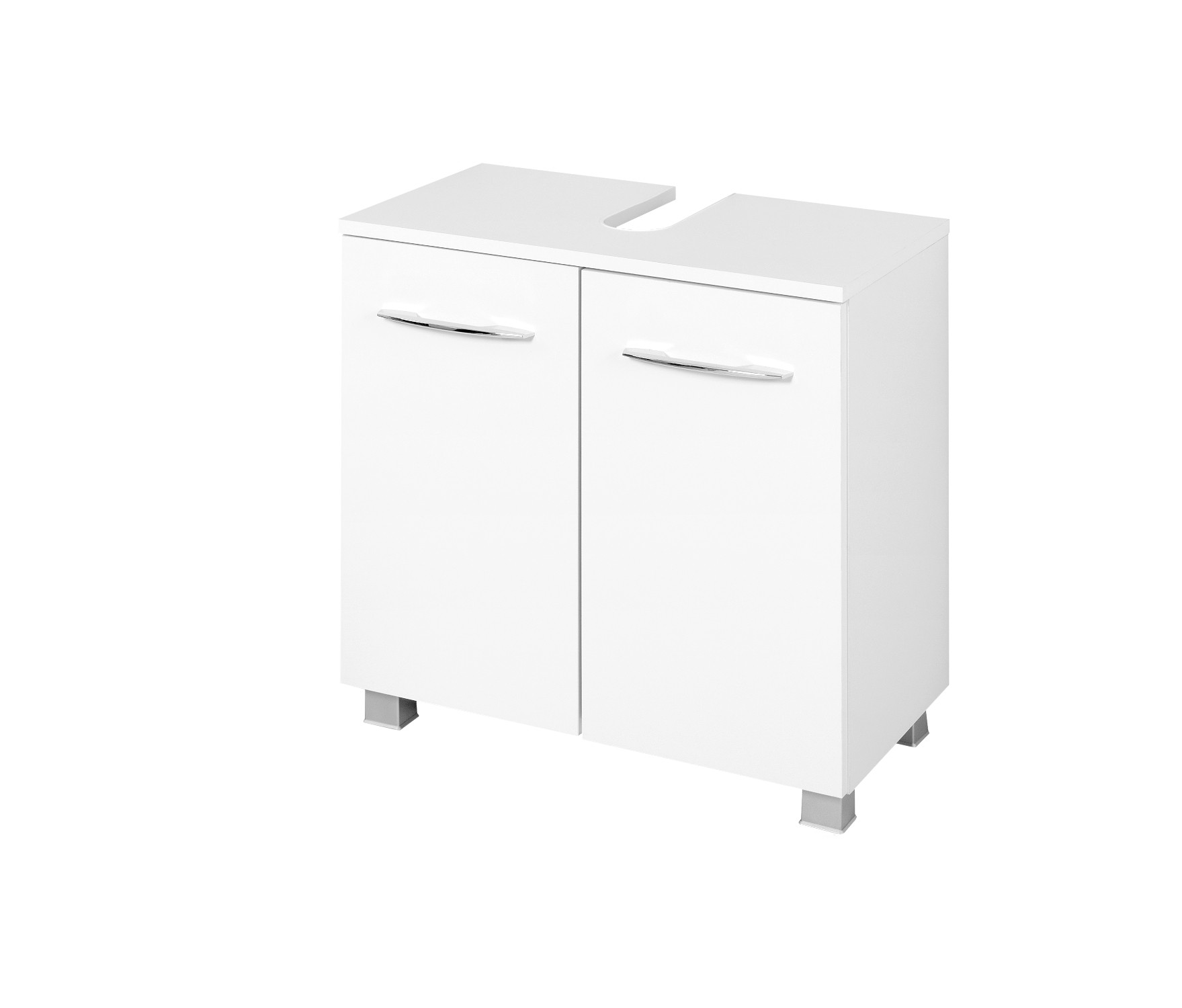 waschbeckenunterschrank portofino waschtisch unterschrank badschrank 60 cm weiss 4250163751639. Black Bedroom Furniture Sets. Home Design Ideas
