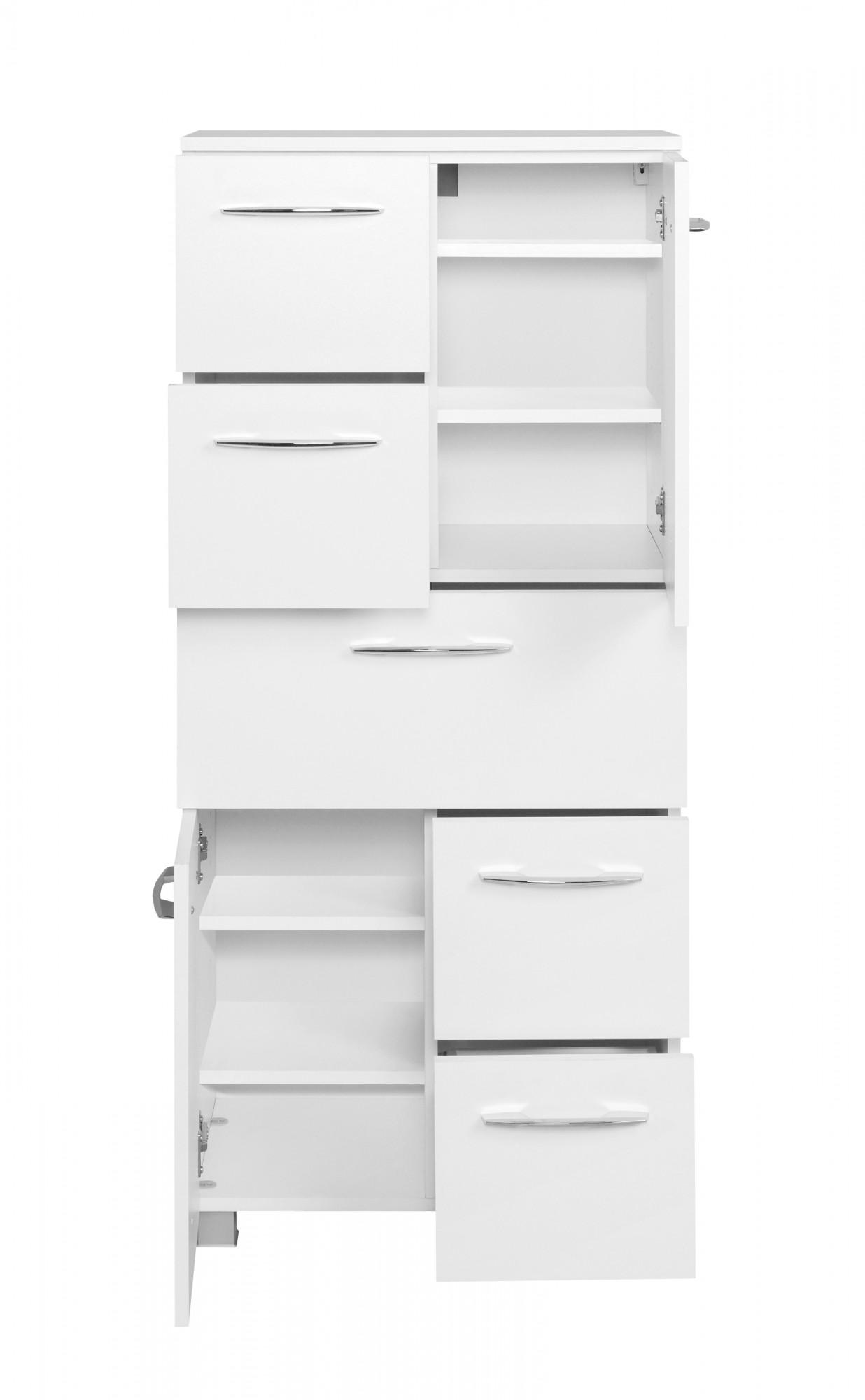 bad midischrank portofino 2 t rig 5 ausz ge 60 cm. Black Bedroom Furniture Sets. Home Design Ideas