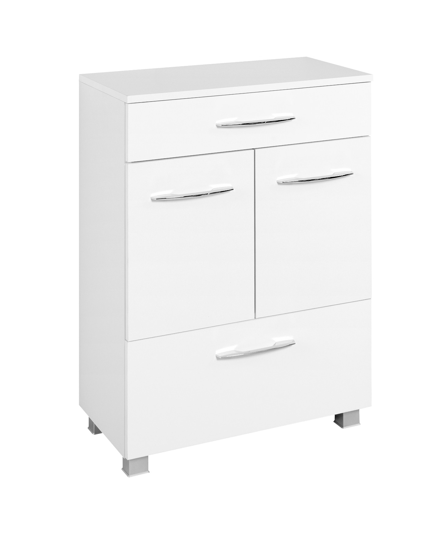 badezimmer bad unterschrank portofino badschrank badm bel 60 cm weiss ebay. Black Bedroom Furniture Sets. Home Design Ideas