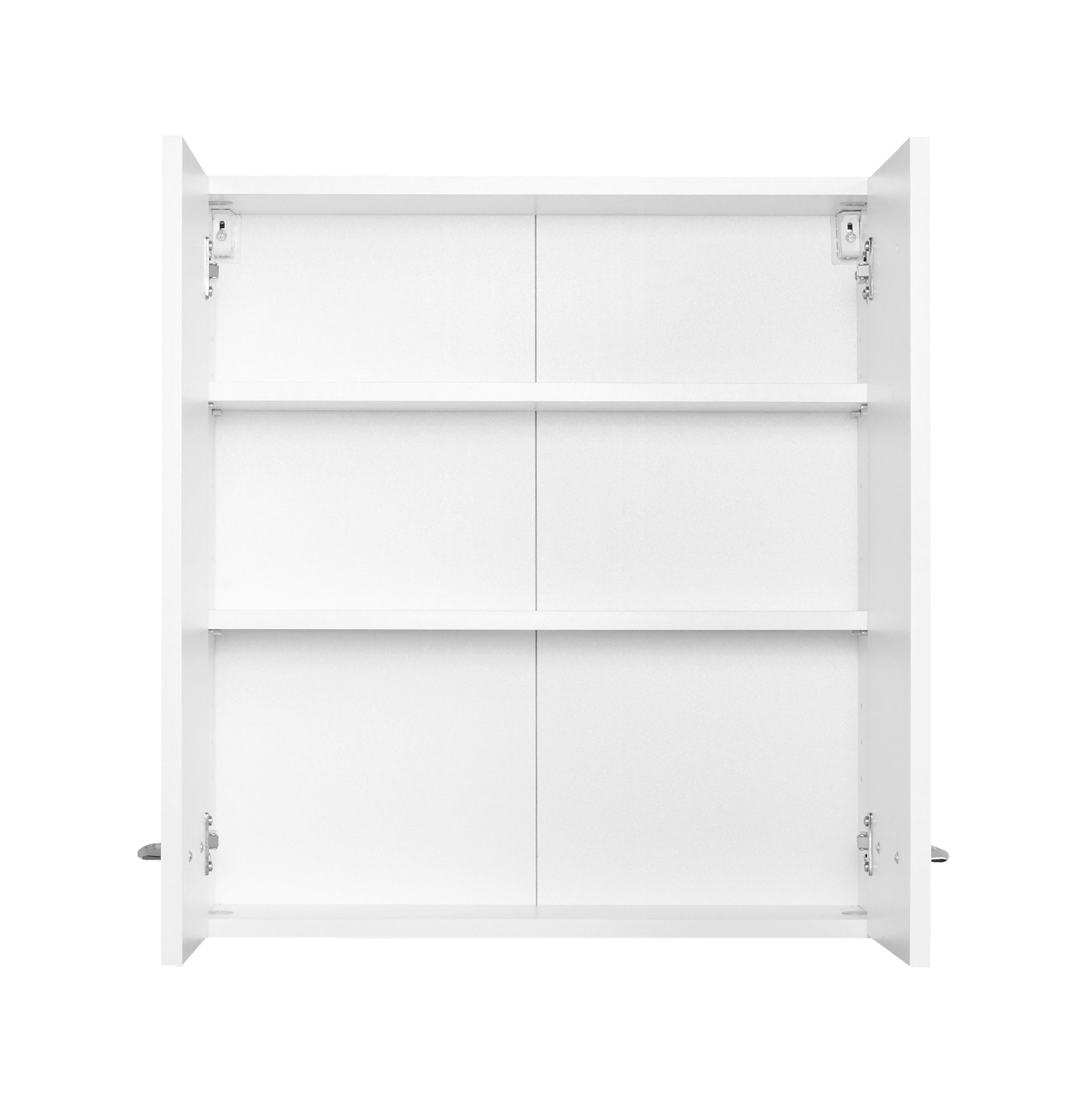 Bad-Hängeschrank PORTOFINO - 2-türig - 60 cm breit - Weiß Bad ...