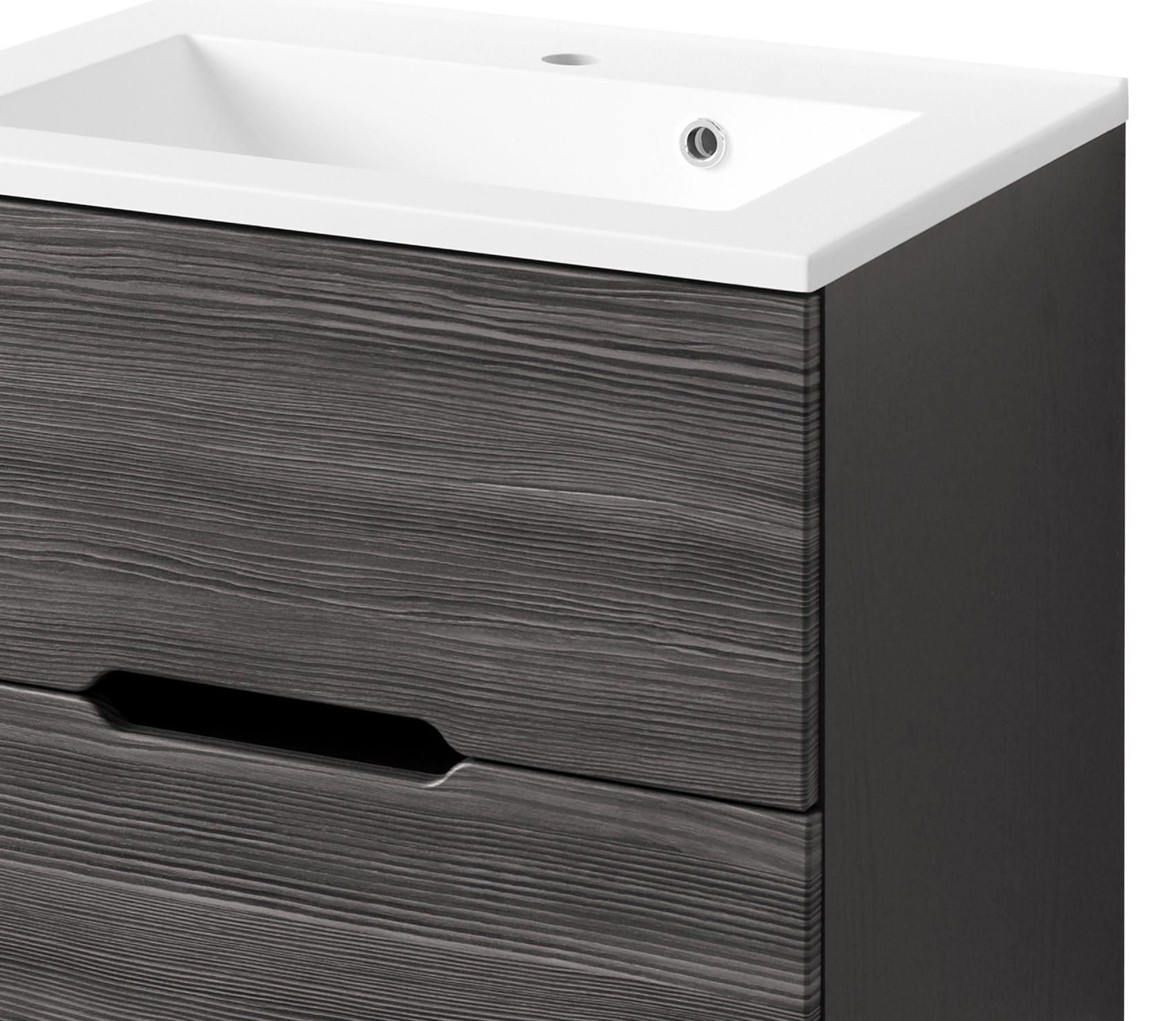 badm bel set belluno mit waschtisch 6 teilig 140 cm breit mit midischrank l rche. Black Bedroom Furniture Sets. Home Design Ideas