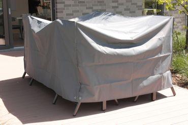Schutzhülle Consul Garden LUXUS - für Loungemöbel - 285 cm breit - Grau