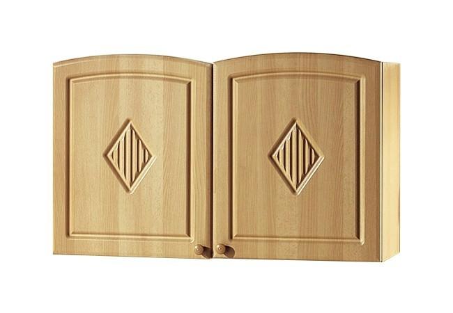 Küchen-Hängeschrank RAUTE - 2-türig - 100 cm breit - Buche Küche ...