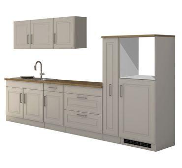 Küchenzeile KÖLN -  Küchen-Leerblock - Breite 320 cm - Weiß