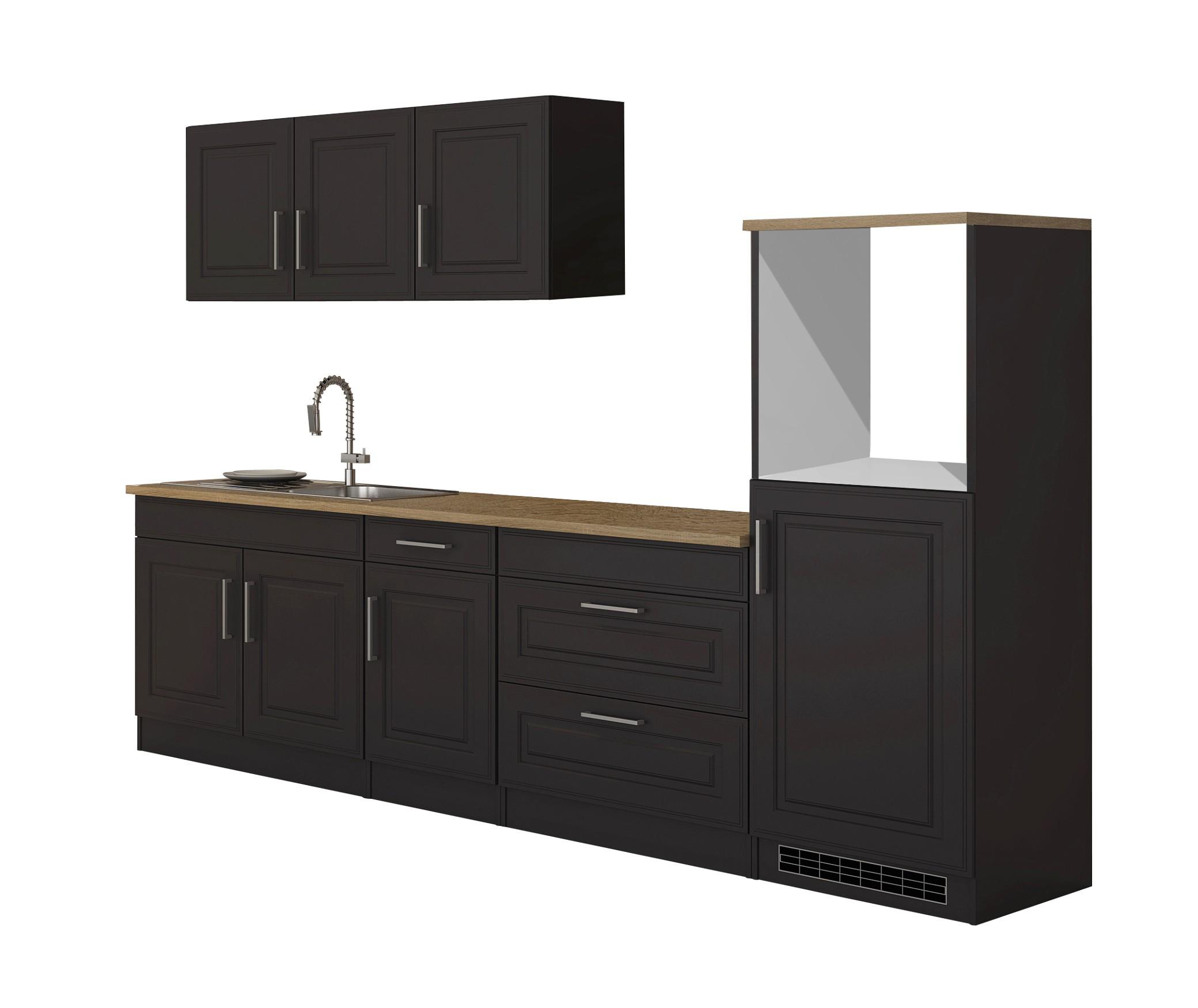 Küchenzeile ohne Geräte Einbauküche ohne Elektrogeräte Küchenblock ...