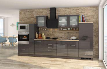 Küchenzeile MÜNCHEN   Vario 4   Küche Mit E Geräten   Breite 360 Cm