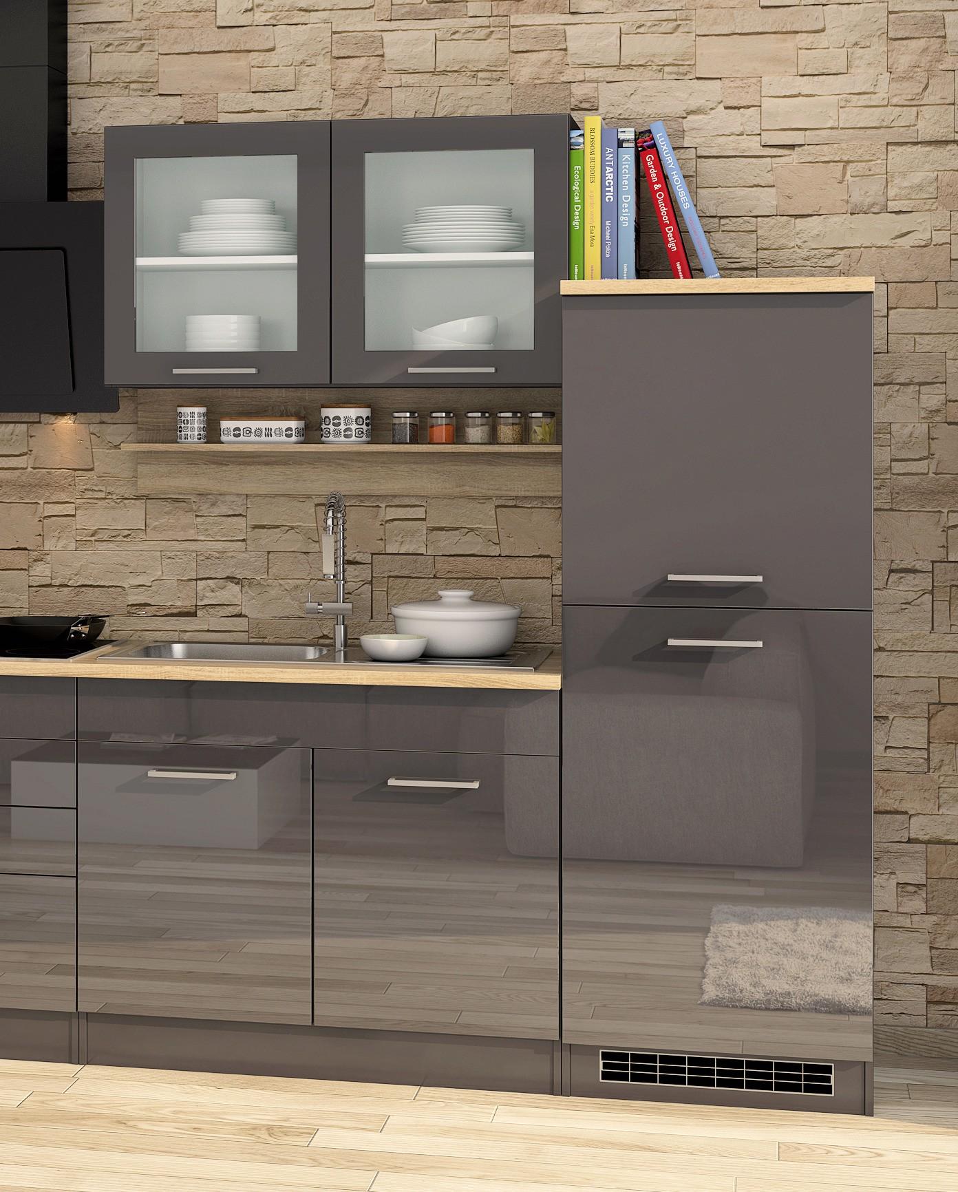 k chenzeile m nchen k chenblock mit elektroger ten 330 cm. Black Bedroom Furniture Sets. Home Design Ideas