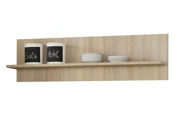 Küchen-Wandregal - 1 Ablagefläche - 110 cm breit - Eiche Sonoma