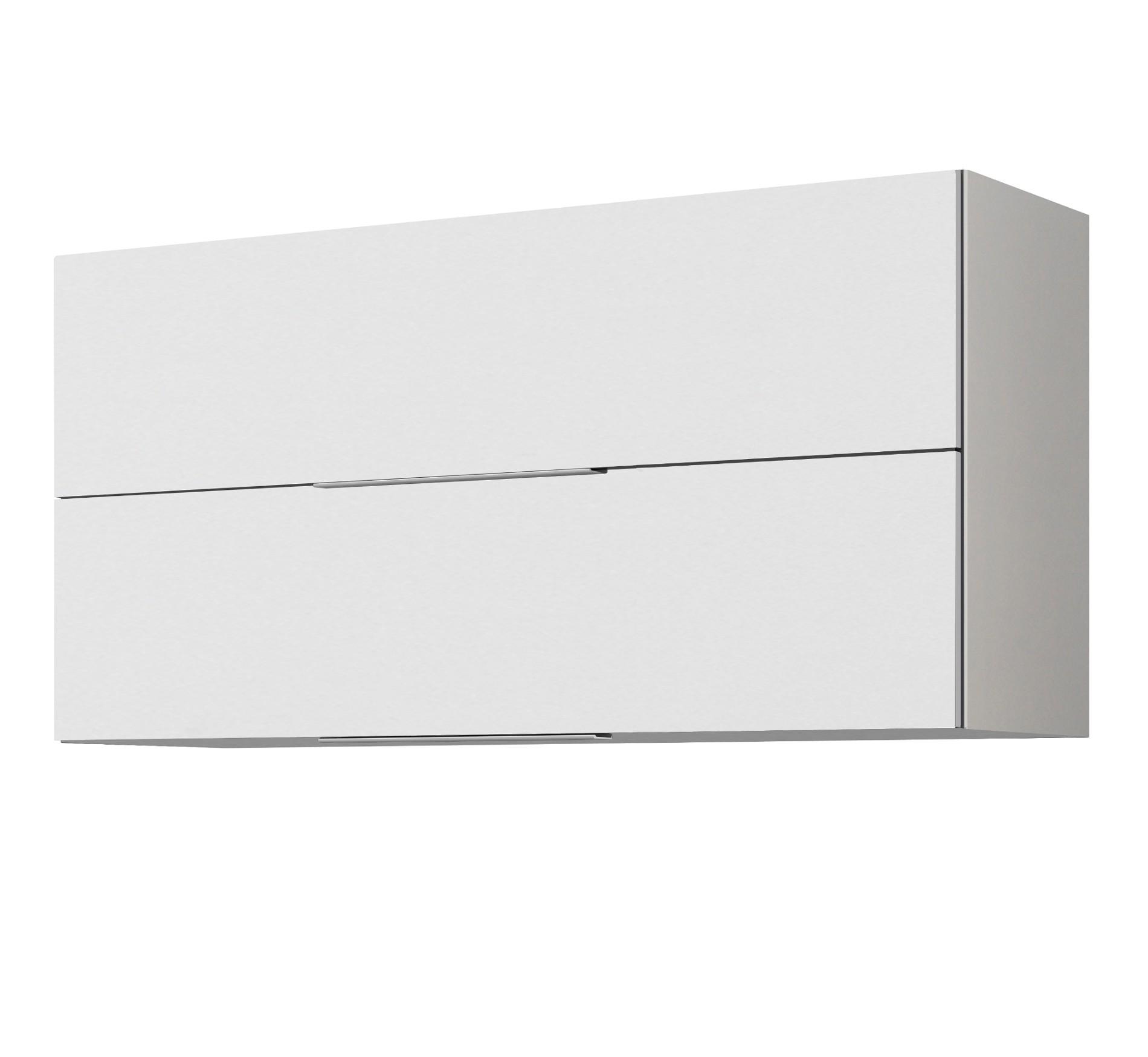 Küchen-Hängeschrank HAMBURG - 2 Klappen - 110 cm breit - Hochglanz ...