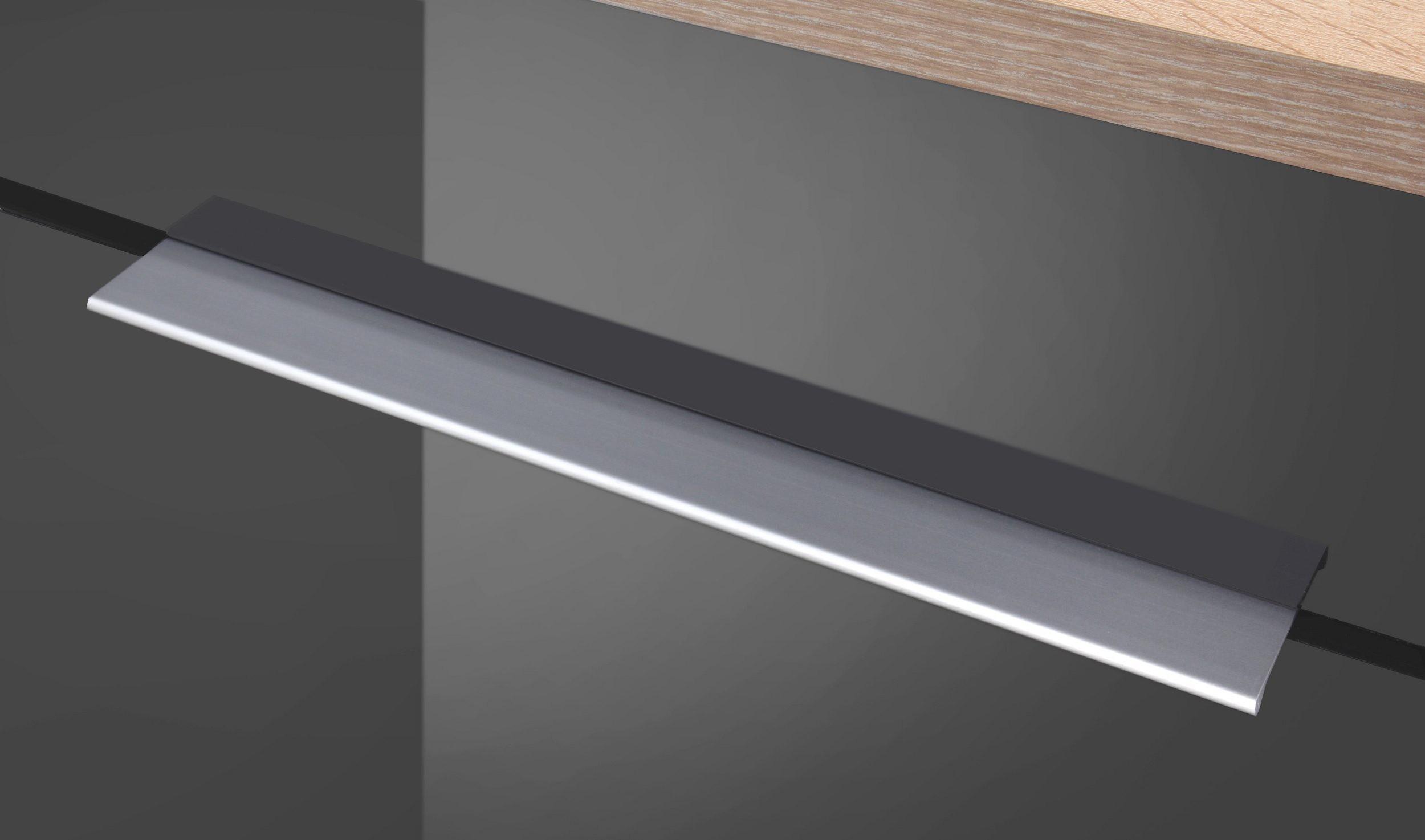 k chen unterschrank hamburg f r kochfeld 60 cm breit hochglanz grau k che k chen unterschr nke. Black Bedroom Furniture Sets. Home Design Ideas