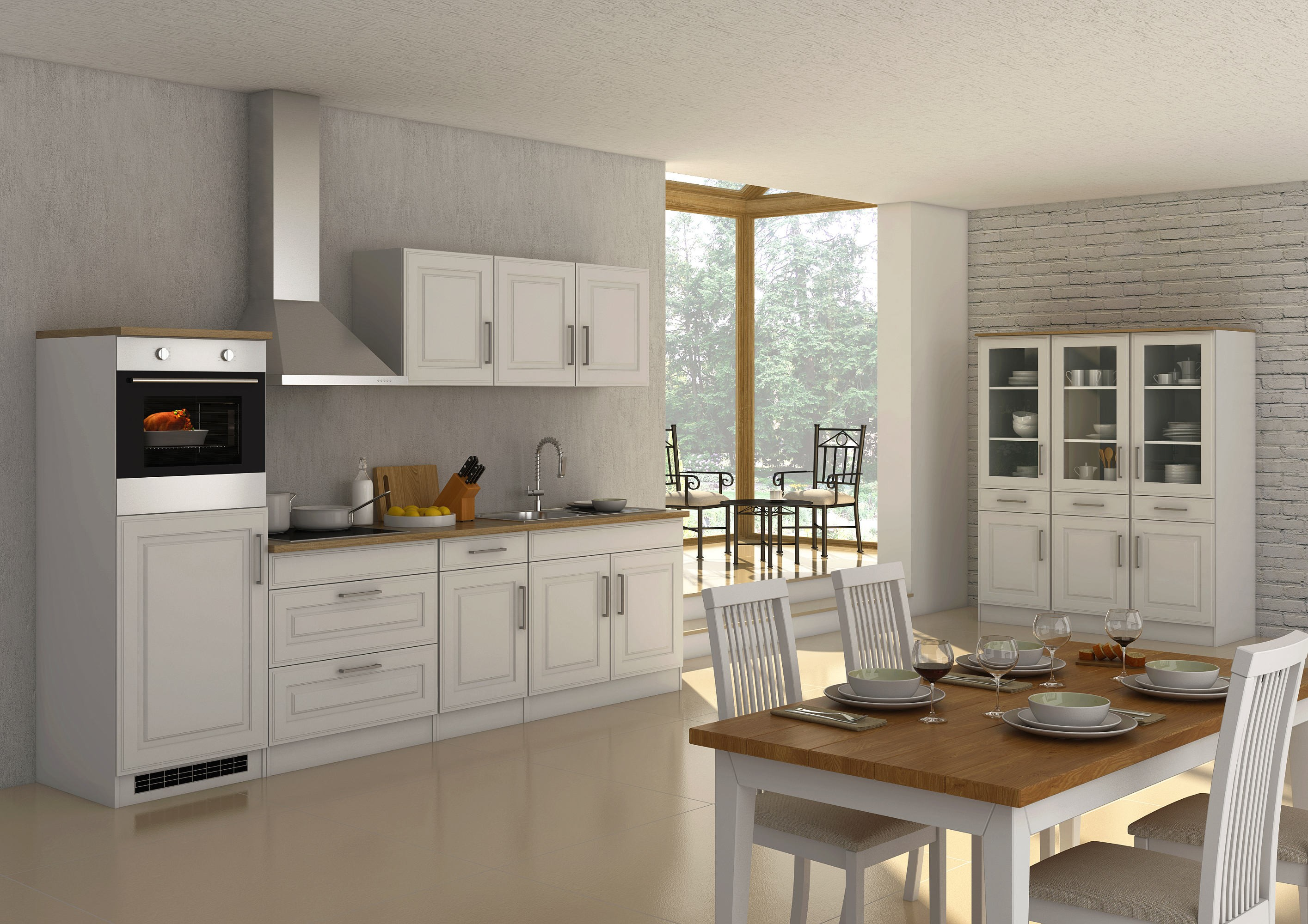 k chen h ngeschrank k ln 2 t rig breite 100 cm wei k che k chen h ngeschr nke. Black Bedroom Furniture Sets. Home Design Ideas