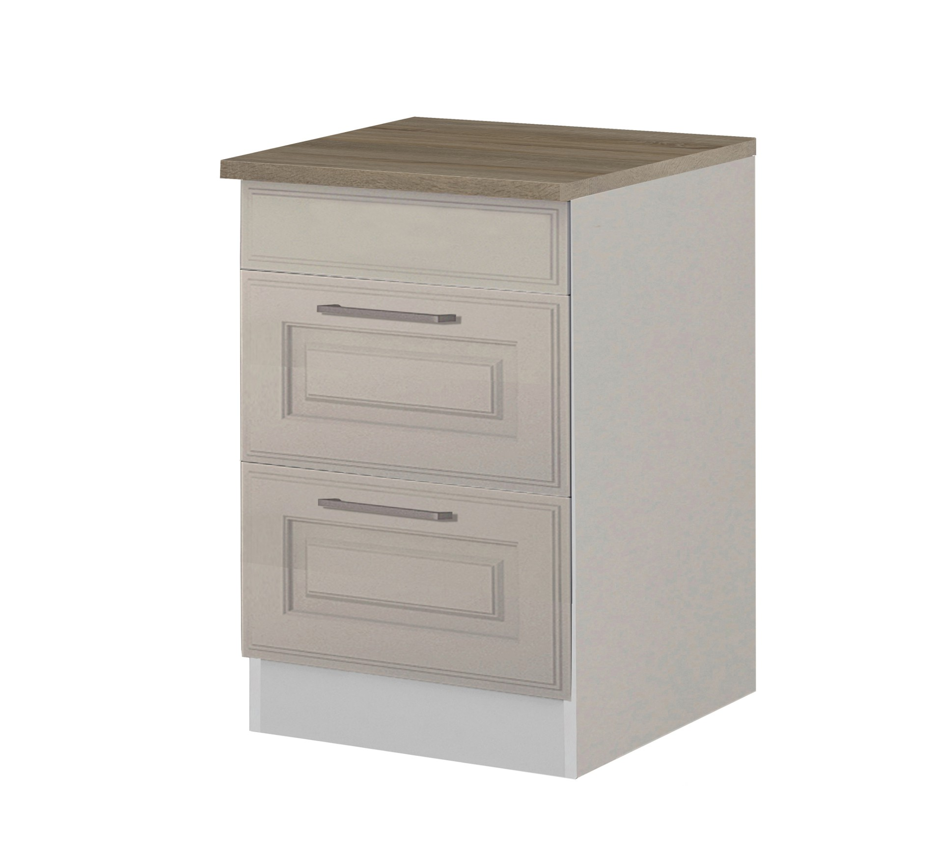 k chen unterschrank k ln 2 ausz ge 60 cm breit wei k che k chen unterschr nke. Black Bedroom Furniture Sets. Home Design Ideas