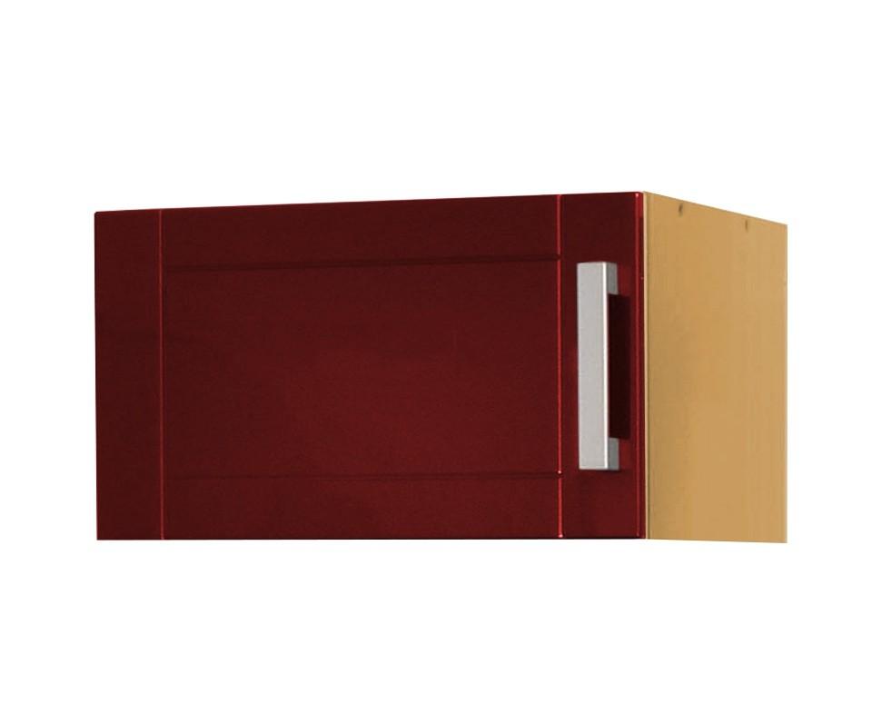 k chen kurzh ngeschrank varel 1 t rig 60 cm breit hochglanz bordeaux rot k che k chen. Black Bedroom Furniture Sets. Home Design Ideas