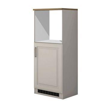 Küchen-Midi-Umbauschrank KÖLN - 165 cm hoch - Weiß