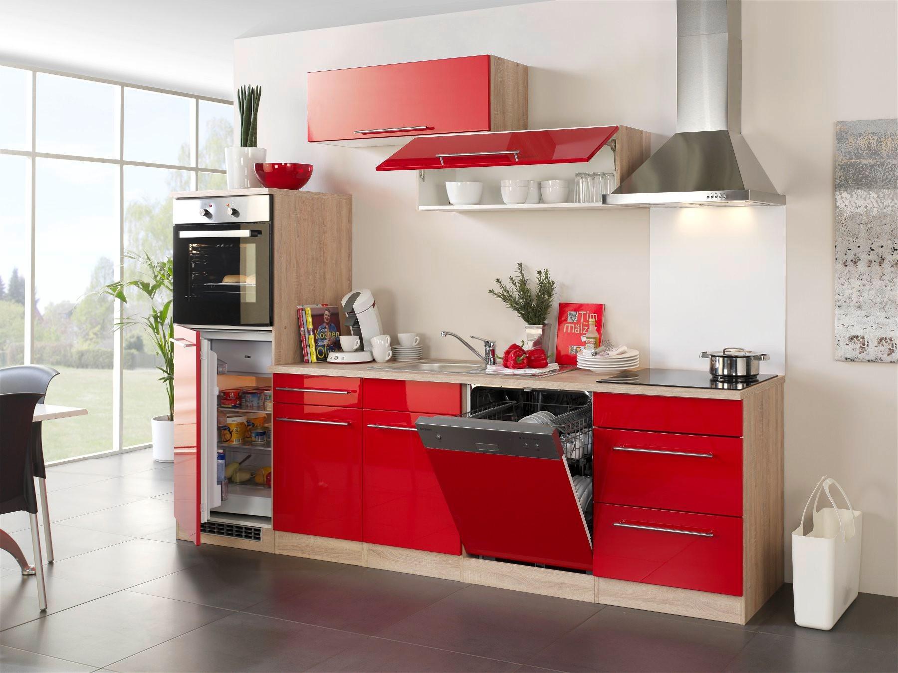 Kuche Mit Elektrogeraten Einbaukuche Mit Geraten Kuchenzeile 280cm