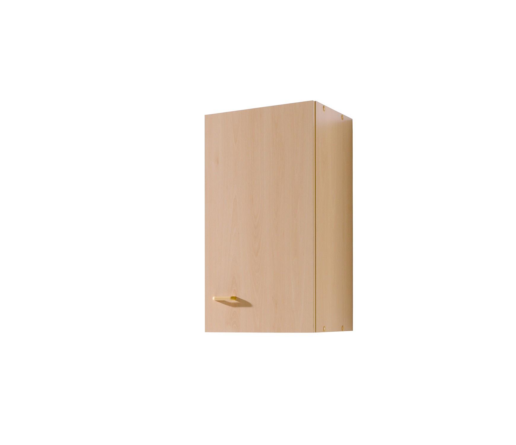 k chen h ngeschrank m nster mehrzweck k chenschrank oberschrank 1 t r 30cm buche ebay. Black Bedroom Furniture Sets. Home Design Ideas