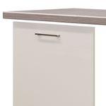 Möbelumbau-Set Küche EICO - für vollintegrierten Geschirrspüler - Creme Samtmatt