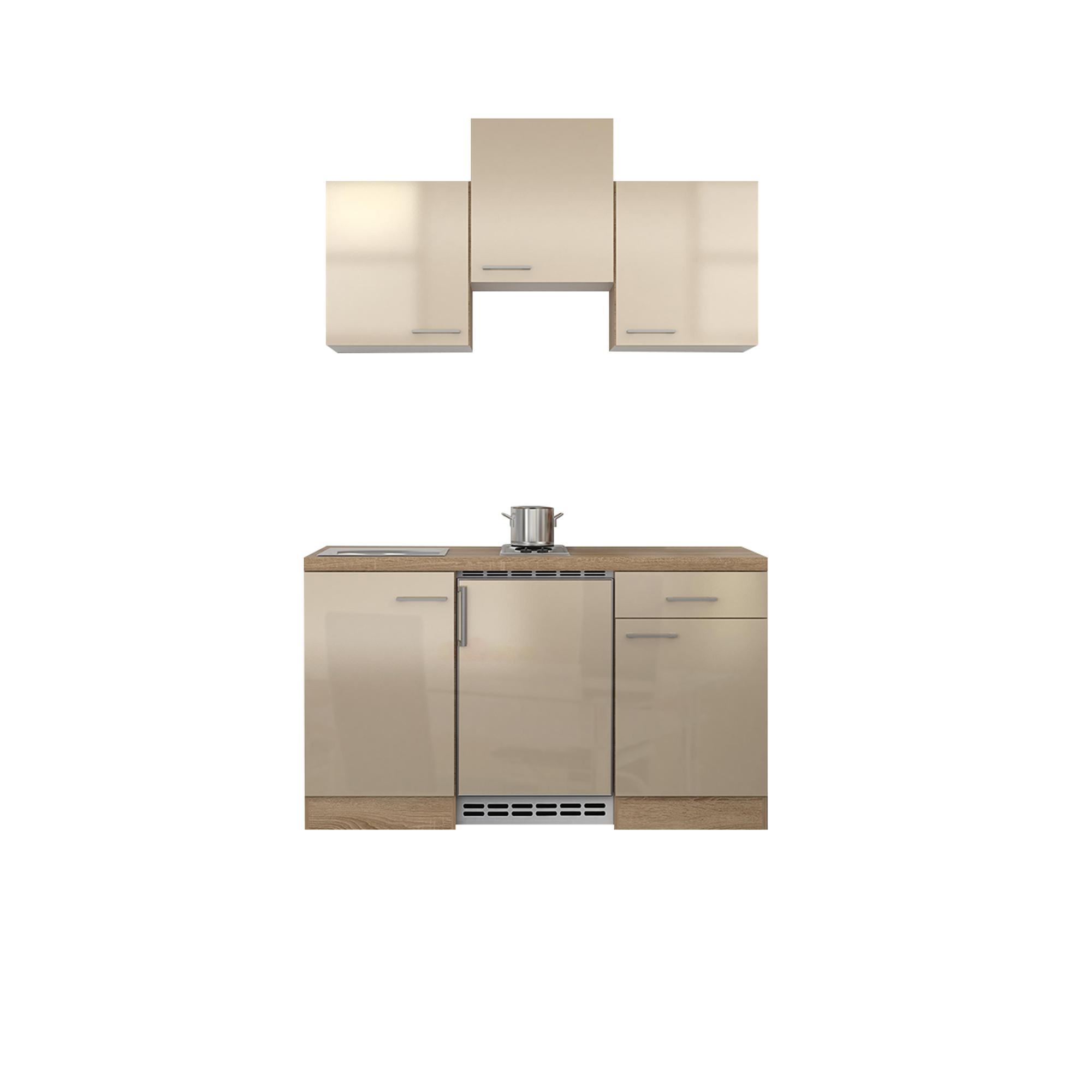 singlek che nepal mit elektrokochfeld und k hlschrank. Black Bedroom Furniture Sets. Home Design Ideas