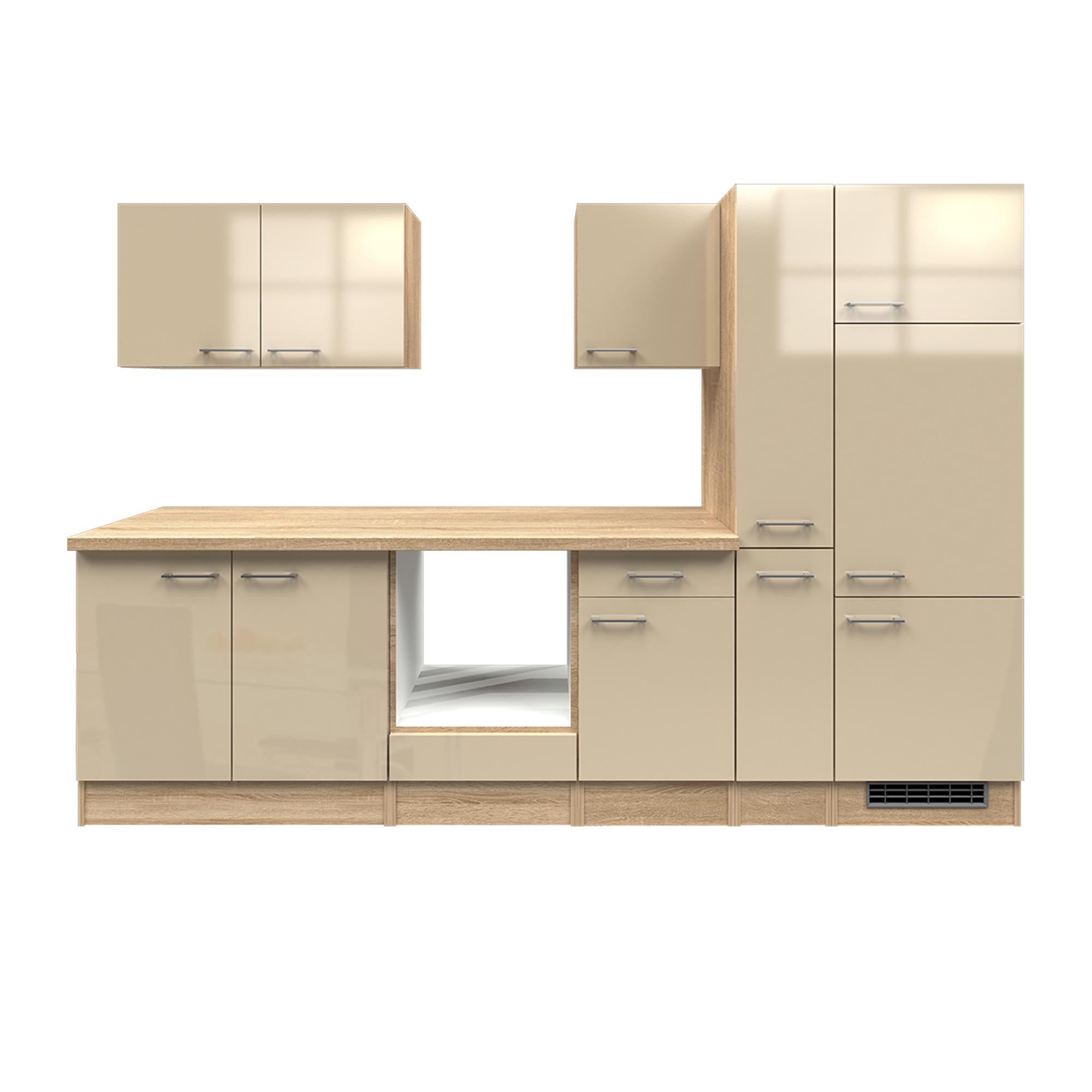 k chenzeile nepal k chen leerblock breite 300 cm. Black Bedroom Furniture Sets. Home Design Ideas