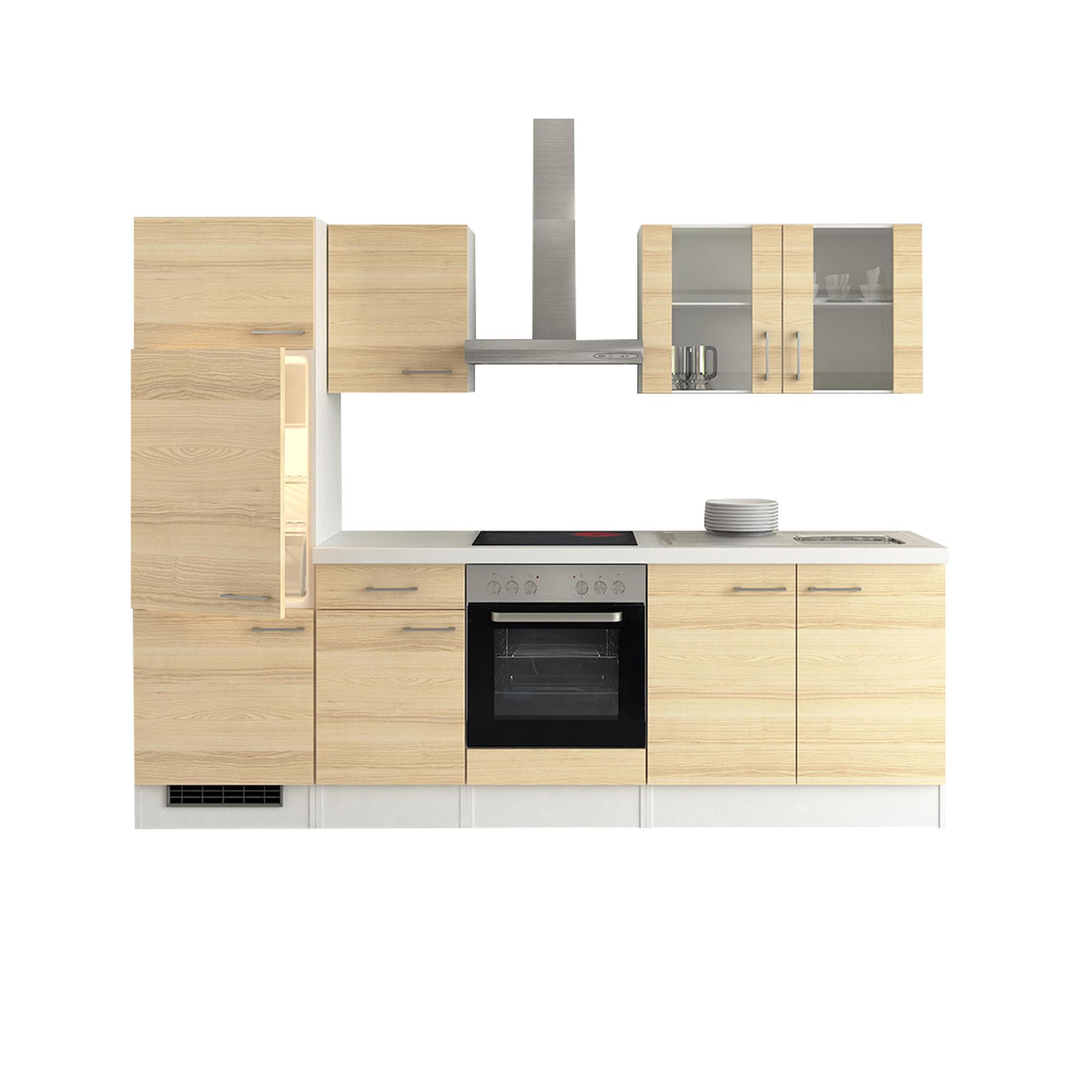 k chenzeile akazia k che mit e ger ten 12 teilig. Black Bedroom Furniture Sets. Home Design Ideas