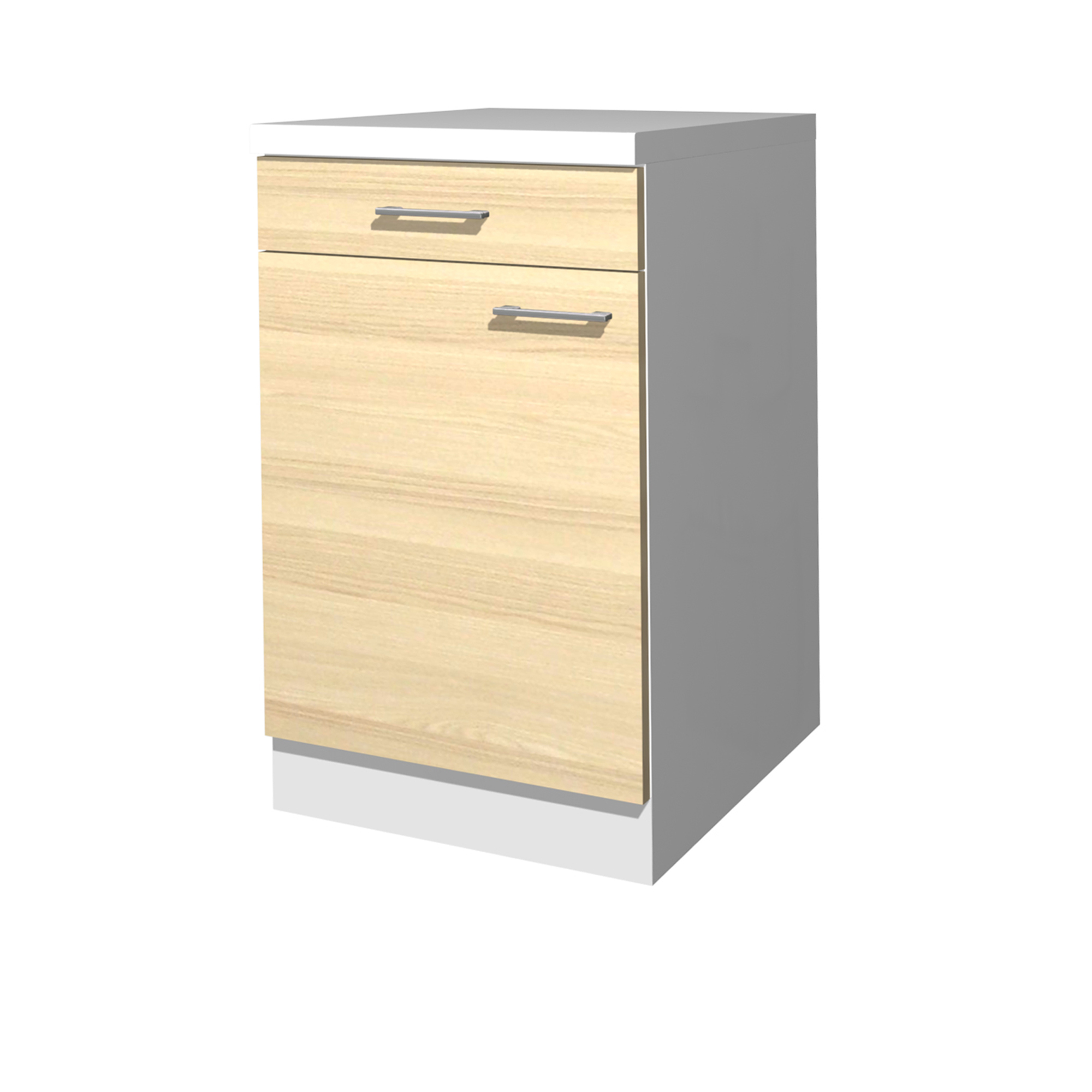 k chen unterschrank akazia 1 t rig 50 cm breit akazie mit echtholzstruktur k che k chen. Black Bedroom Furniture Sets. Home Design Ideas