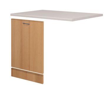 Möbelumbau-Set Küche NANO - für vollintegrierten Geschirrspüler - Buche