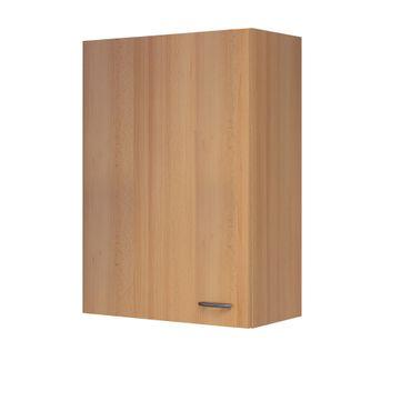Küchen-Hängeschrank NANO - 1-türig - 60 cm breit, 89 cm hoch - Buche