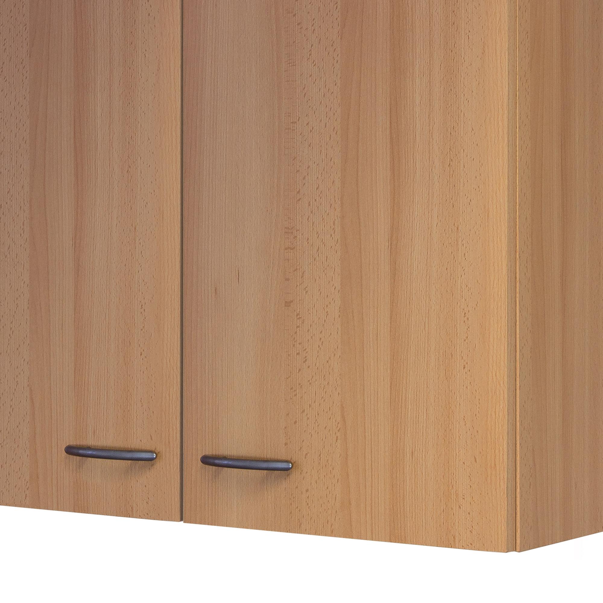 k chen h ngeschrank nano 2 t rig 80 cm breit buche k che h ngeschr nke. Black Bedroom Furniture Sets. Home Design Ideas