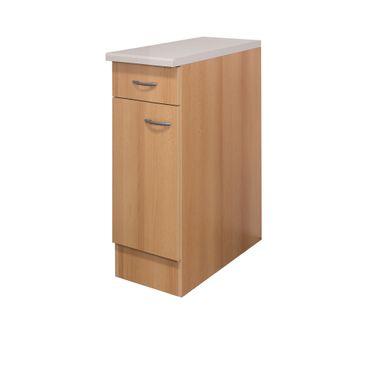 Küchen-Unterschrank NANO - 1-türig - 30 cm breit - Buche