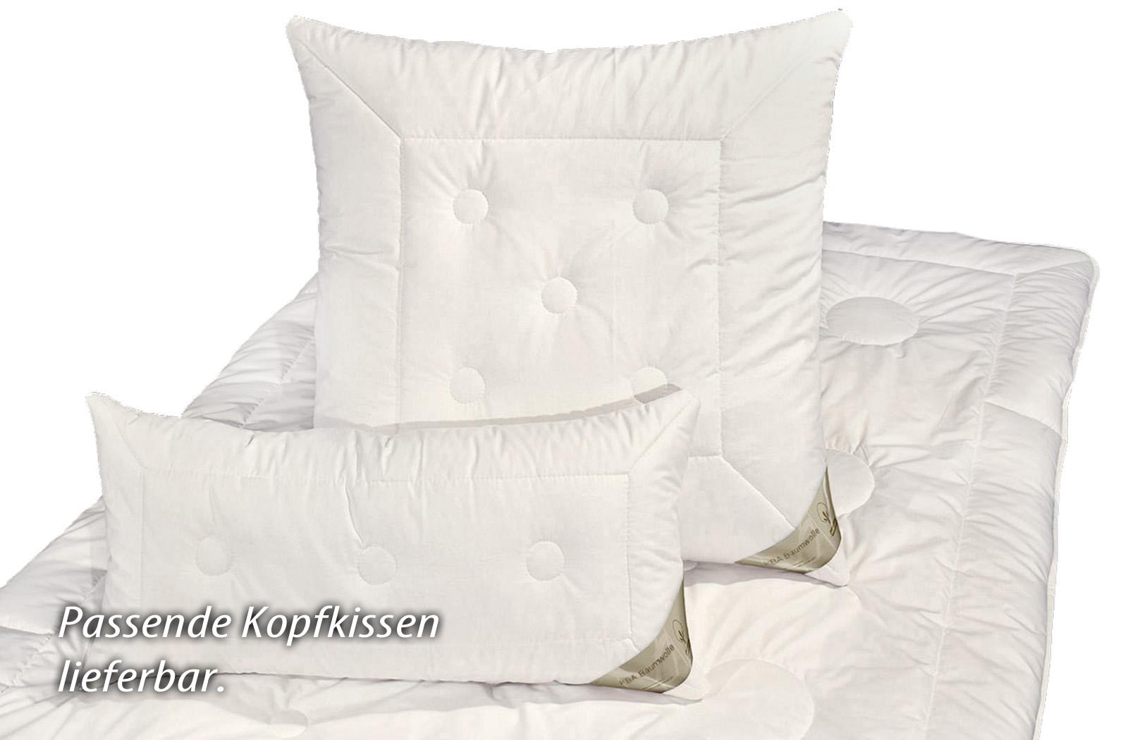Bettdecke Kamelhaar KBA Baumwolle 4-Jahreszeiten Bio Decke Nadin – Bild 5
