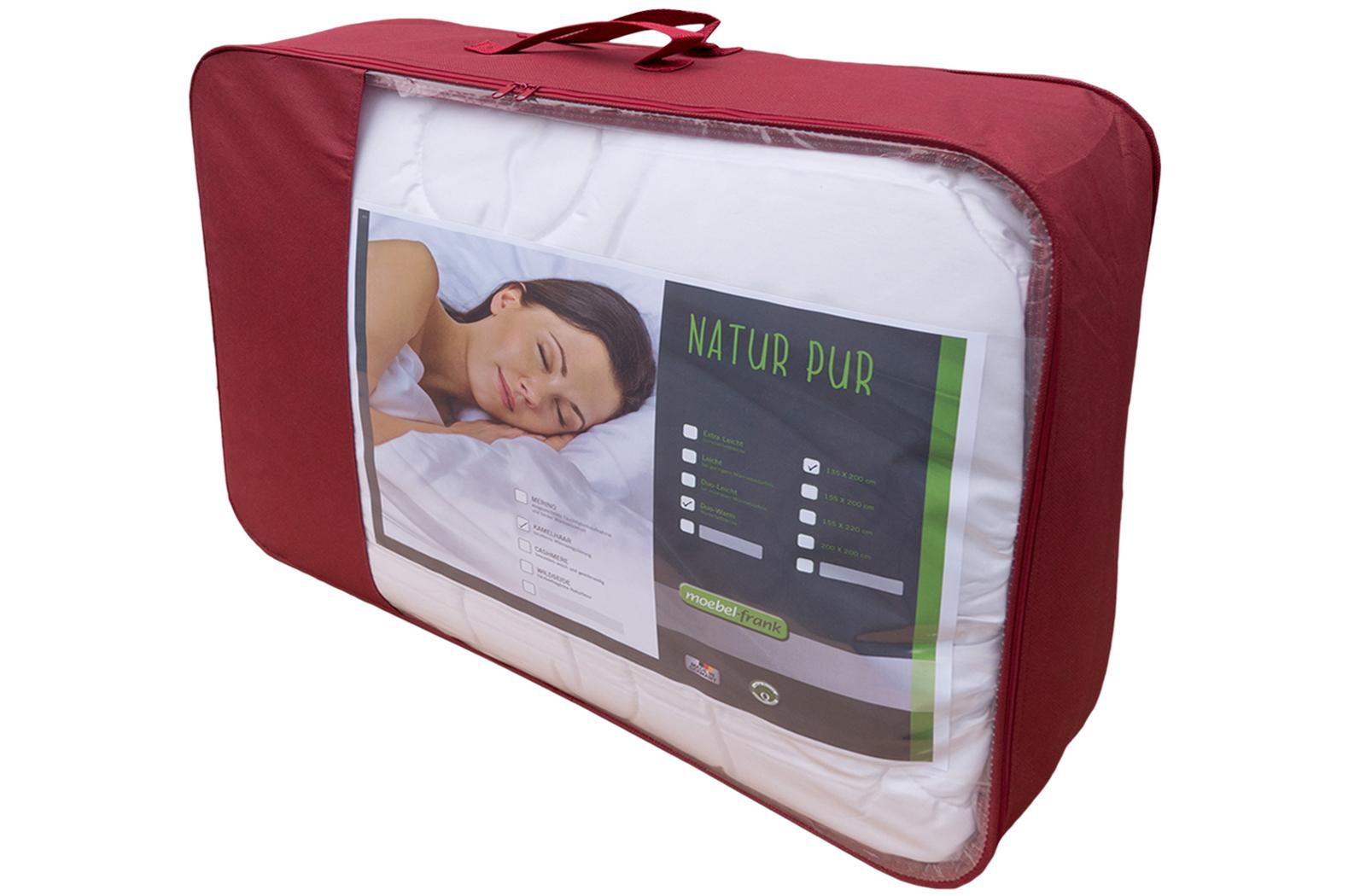 Bettdecke Kamelhaar Sommer Bett Decke Steppbett Kamelhaardecke Karel – Bild 5