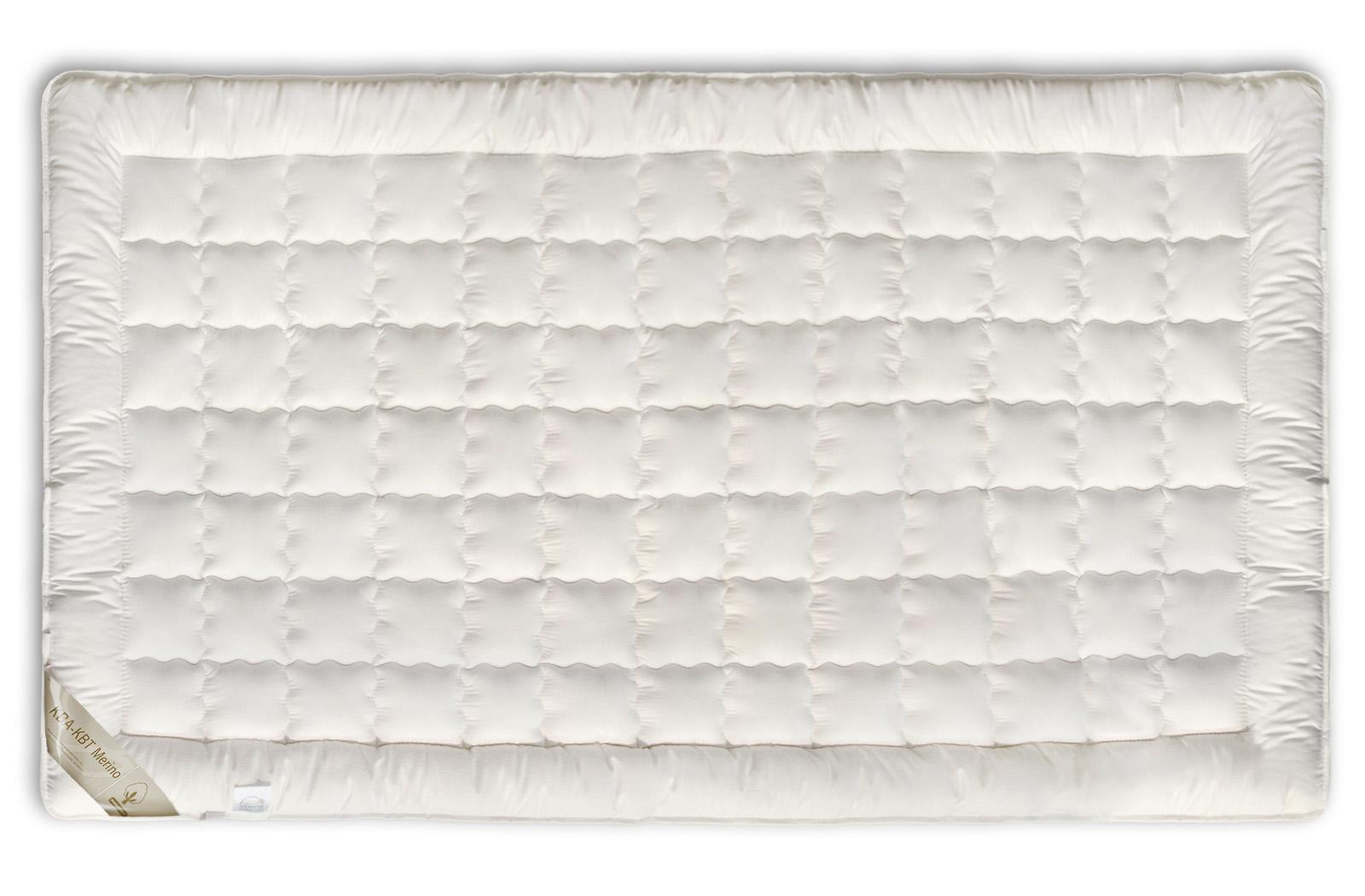 Matratzenauflage BIO KBA + KBT Merino-Schurwolle Unterbett Auflage waschbar Nadia – Bild 2