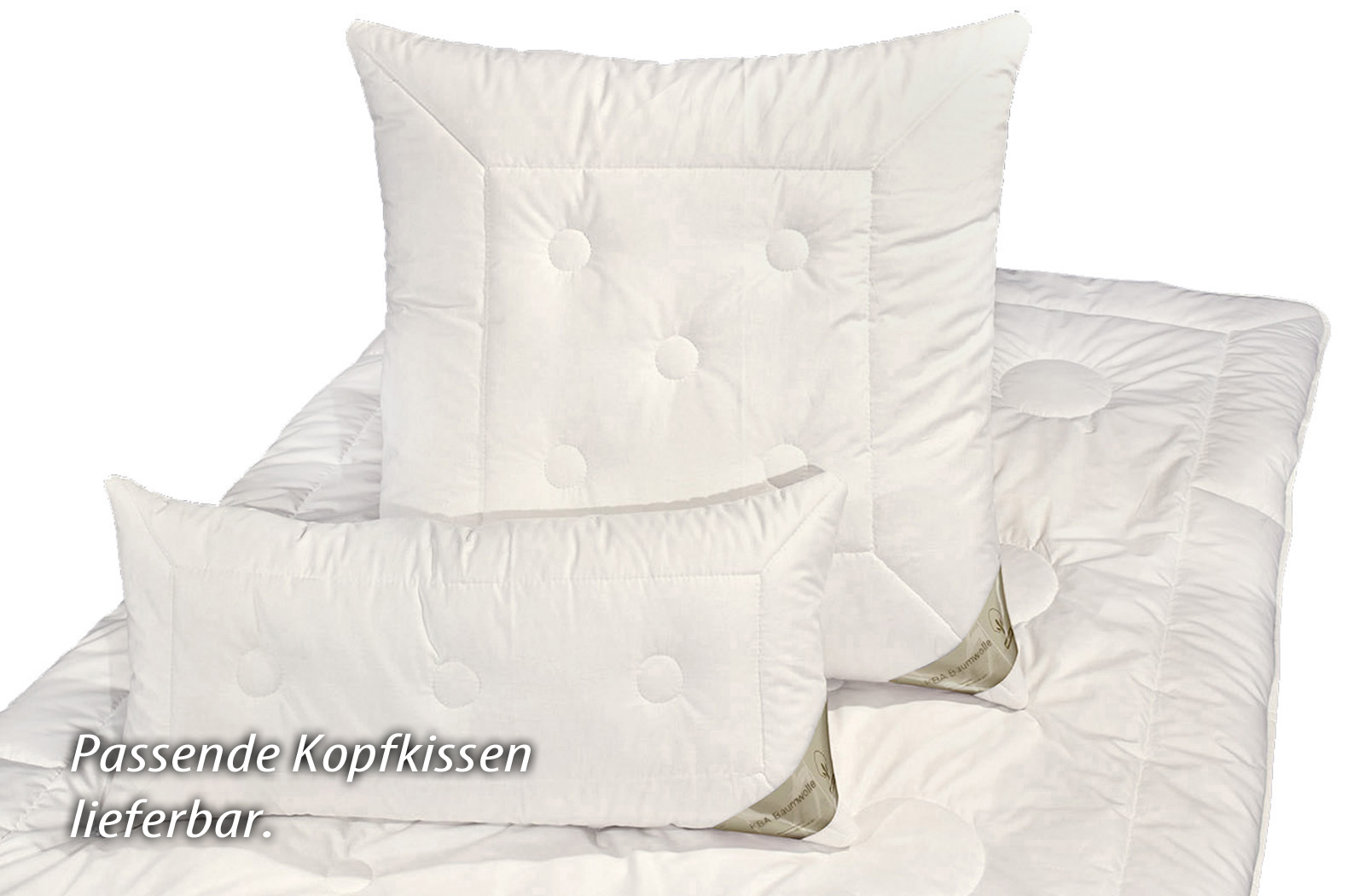 Bettdecke Kamelhaar KBA Baumwolle Winter-Bettdecke Bio Decke Nadin – Bild 5