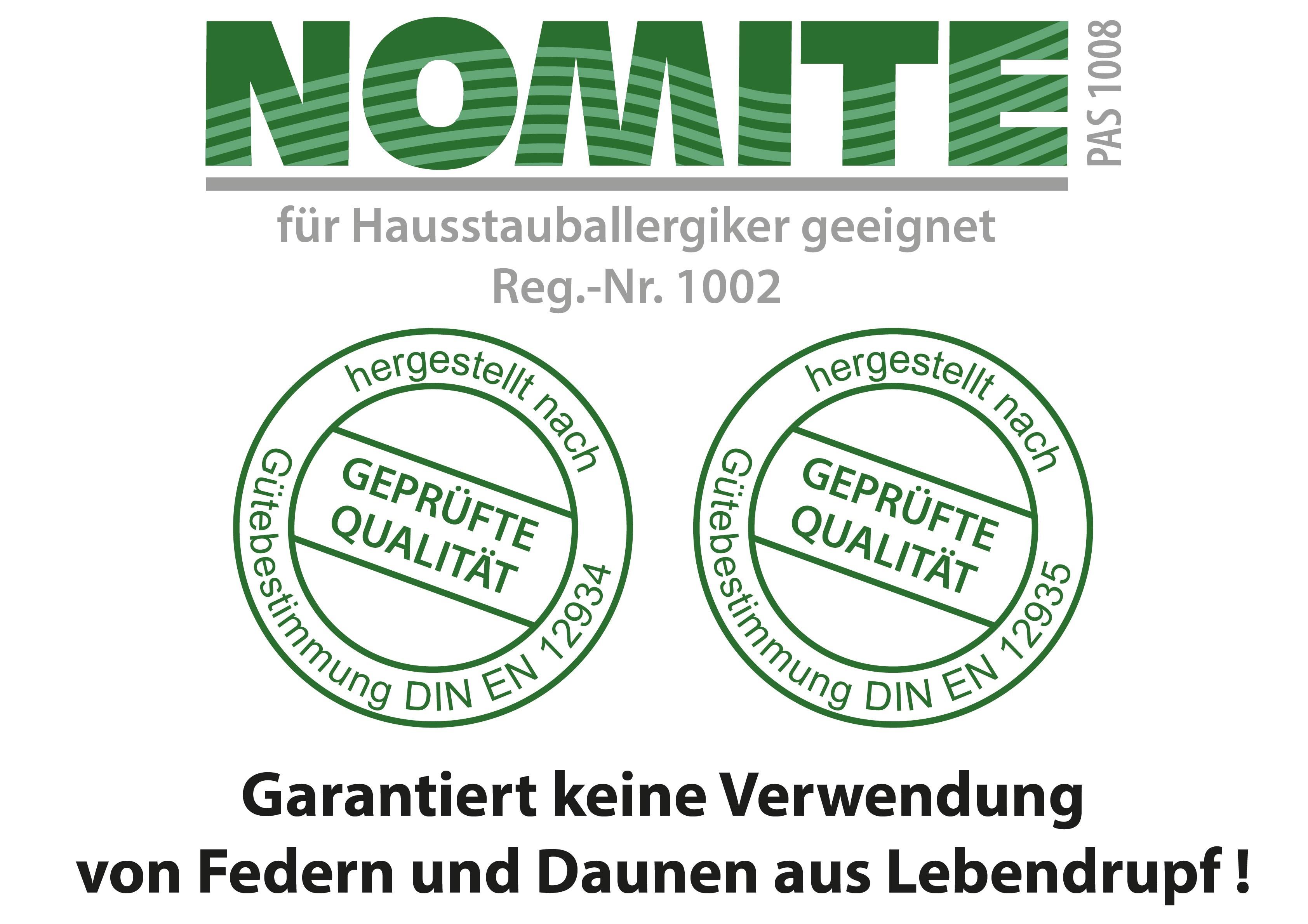 Ballonbett 100% Deutsche Gänsedaune Klasse 1 Oberbett – Bild 4