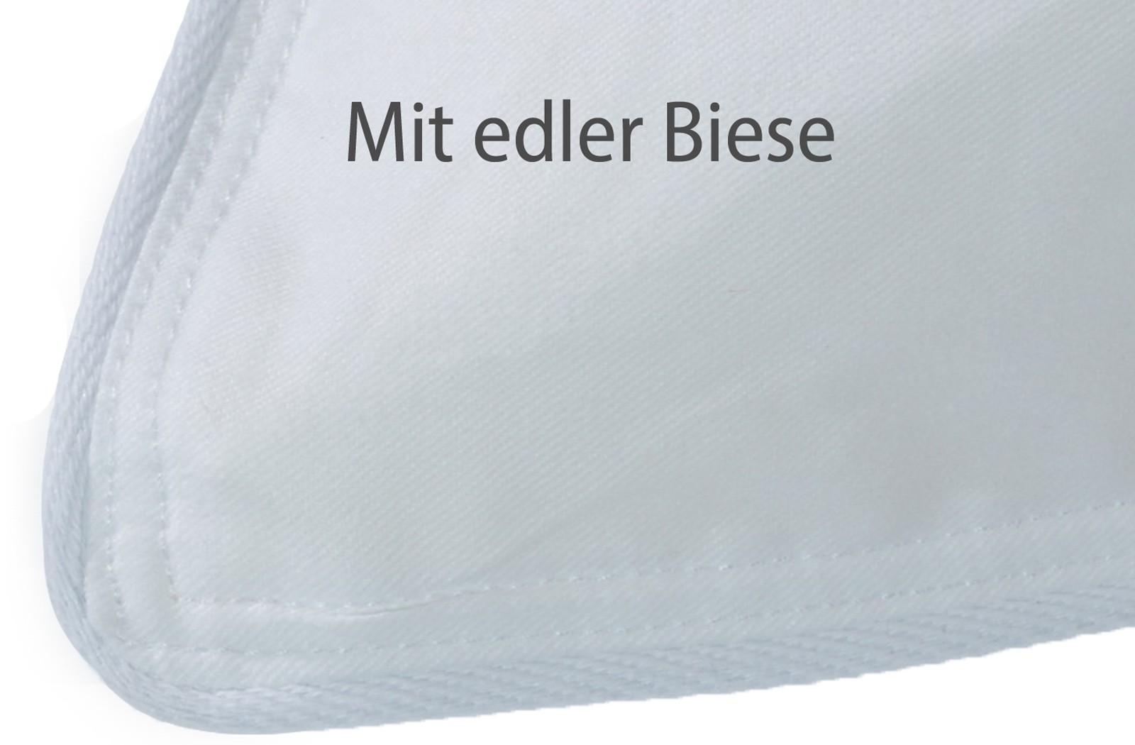 2x Kopfkissen 15% Gänse-Daunen Kissen Federn Klasse 1  80x80 Svenja – Bild 3