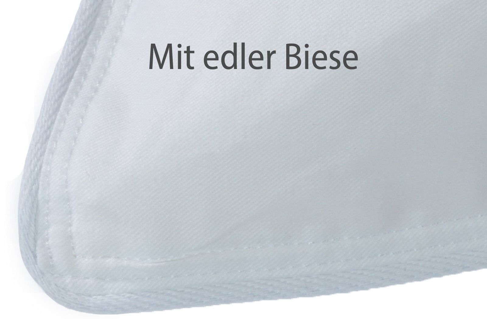 2x Kopfkissen 30% Gänse-Daunen Kissen Federn Klasse 1 40x80 Christin – Bild 3