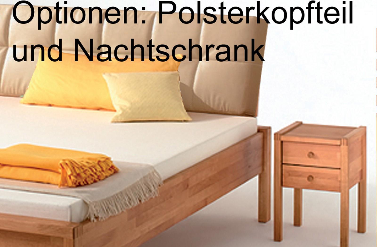 massivholzbett buche ge lt bett holzbett massiv doppelbett komforth he ferdinand ebay. Black Bedroom Furniture Sets. Home Design Ideas