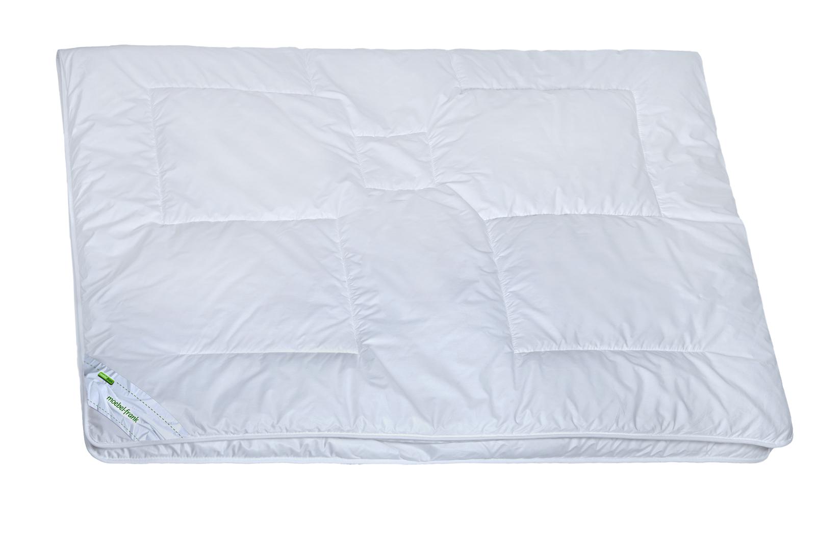 Ganzjahresbettdecke Klima-Funktionsfaser Baumwolle waschbar 60° Clara – Bild 3