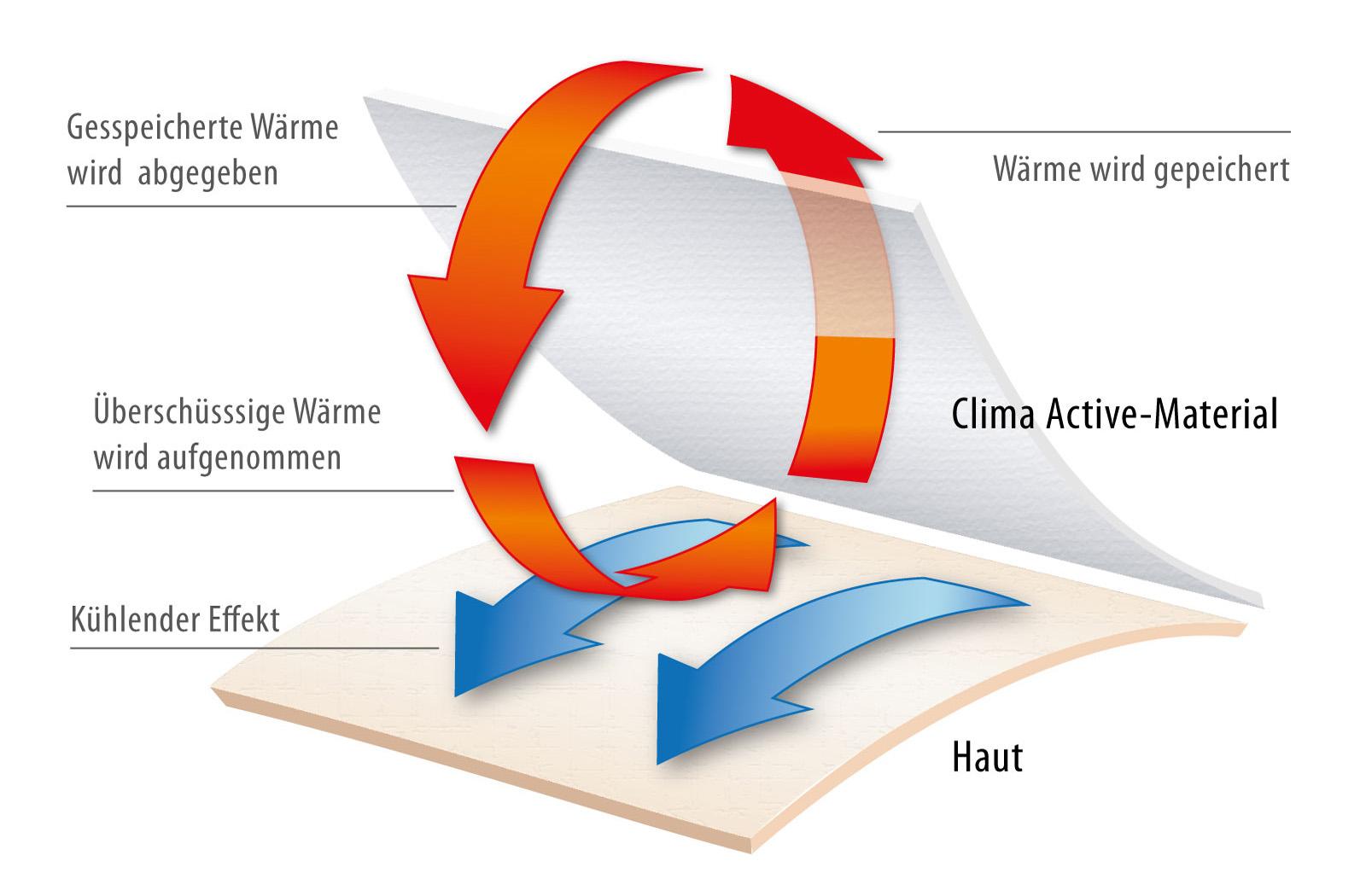 Ganzjahresbettdecke Klima-Funktionsfaser Baumwolle waschbar 60° Clara – Bild 4