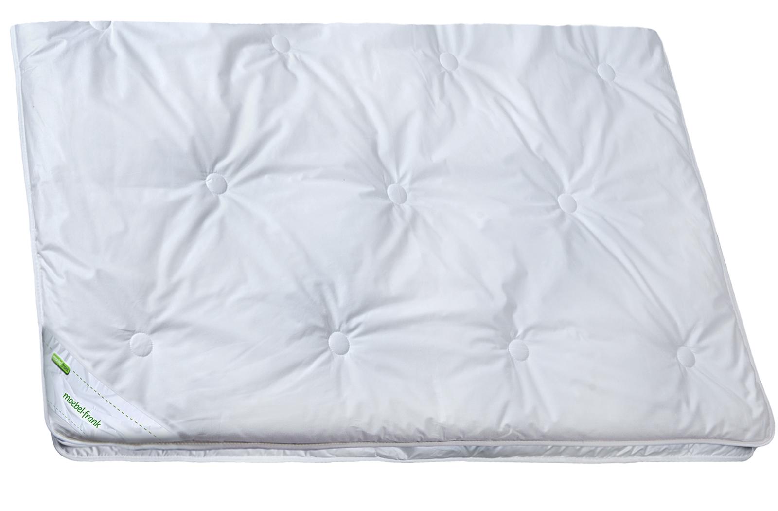 Bettdecke 4-Jahreszeiten Tencel Lyocell  Baumwolle waschbar 60° Fabienne – Bild 1