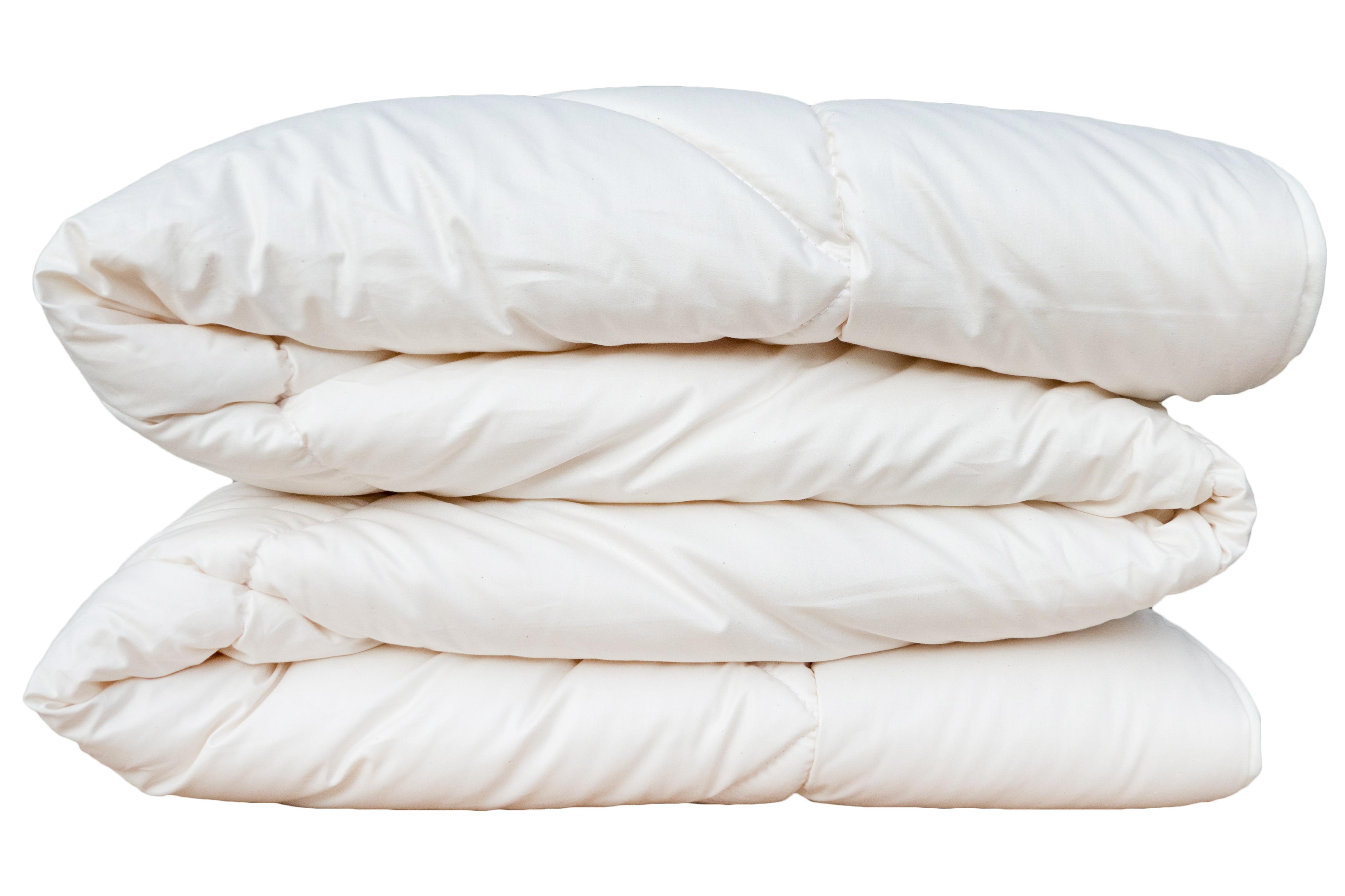 Bettdecken KBT Merino Schafschurwolle Winter Decke BIO KBA Baumwolle waschbar Natalia – Bild 5